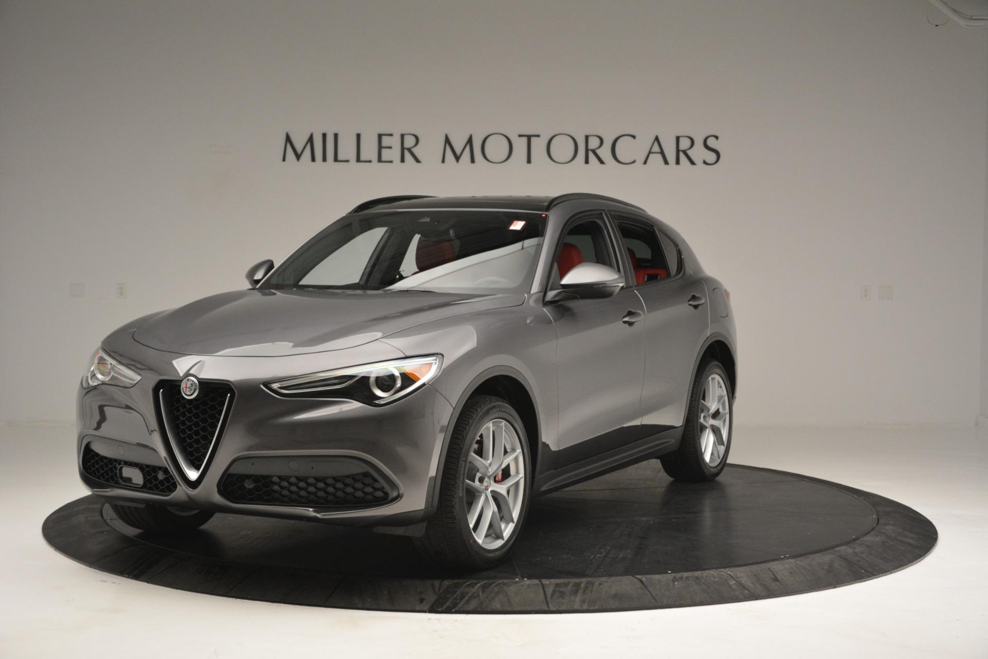 New 2019 Alfa Romeo Stelvio Ti Sport Q4 For Sale In Greenwich, CT. Alfa Romeo of Greenwich, L496 2656_main