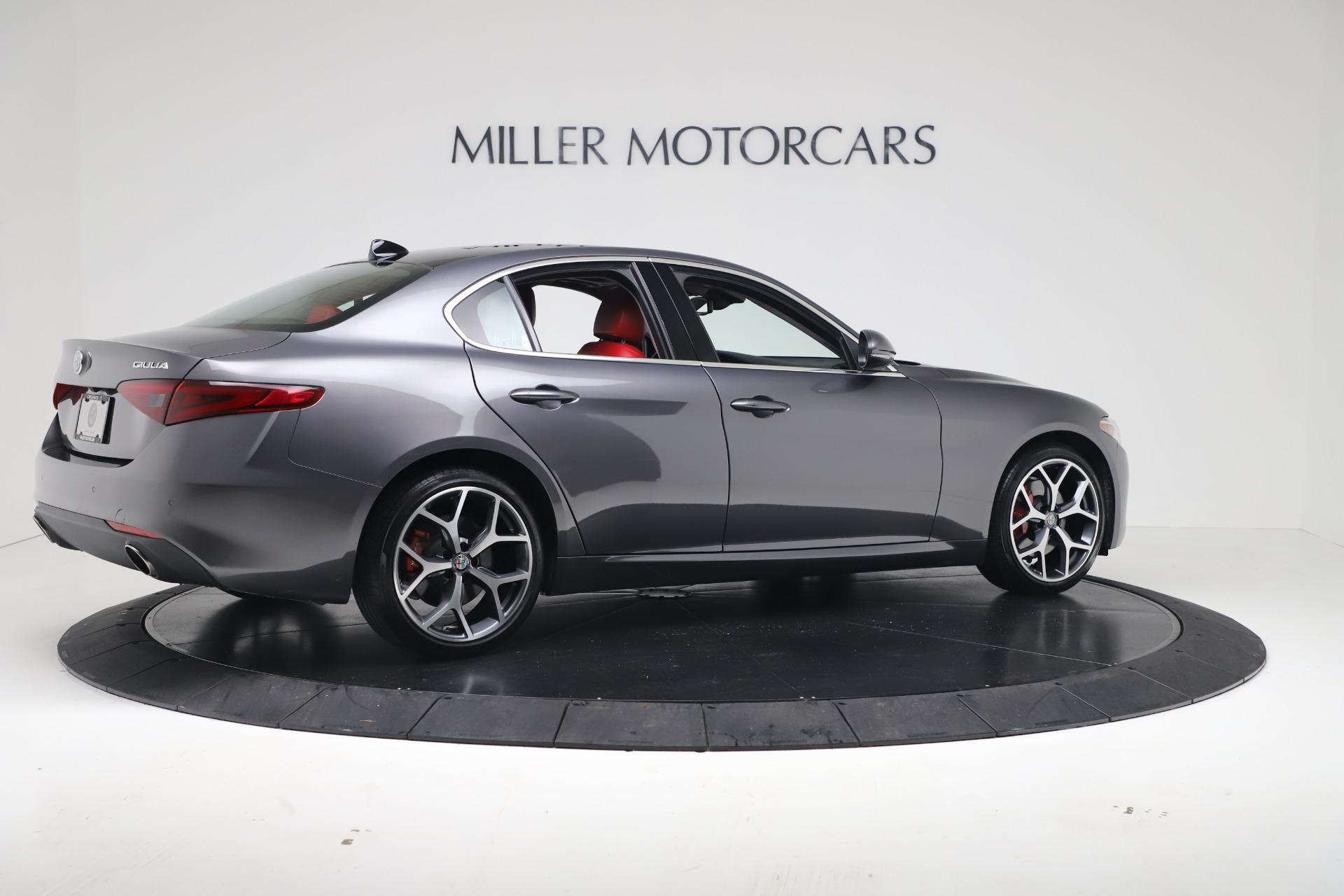 New 2019 Alfa Romeo Giulia Q4 For Sale In Greenwich, CT. Alfa Romeo of Greenwich, LW257 2669_p8