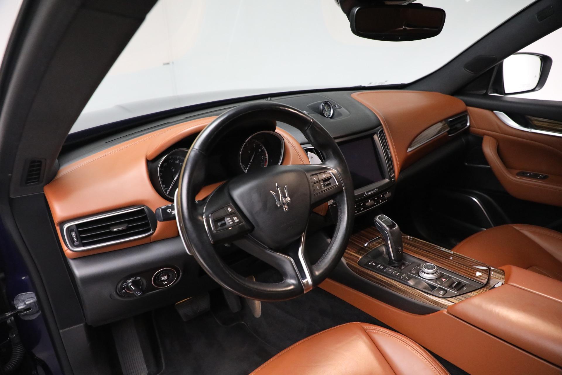 New 2019 Maserati Levante Q4 GranLusso For Sale In Greenwich, CT. Alfa Romeo of Greenwich, M2207 2678_p13