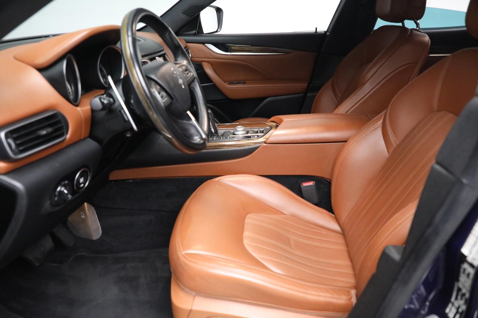 New 2019 Maserati Levante Q4 GranLusso For Sale In Greenwich, CT. Alfa Romeo of Greenwich, M2207 2678_p14