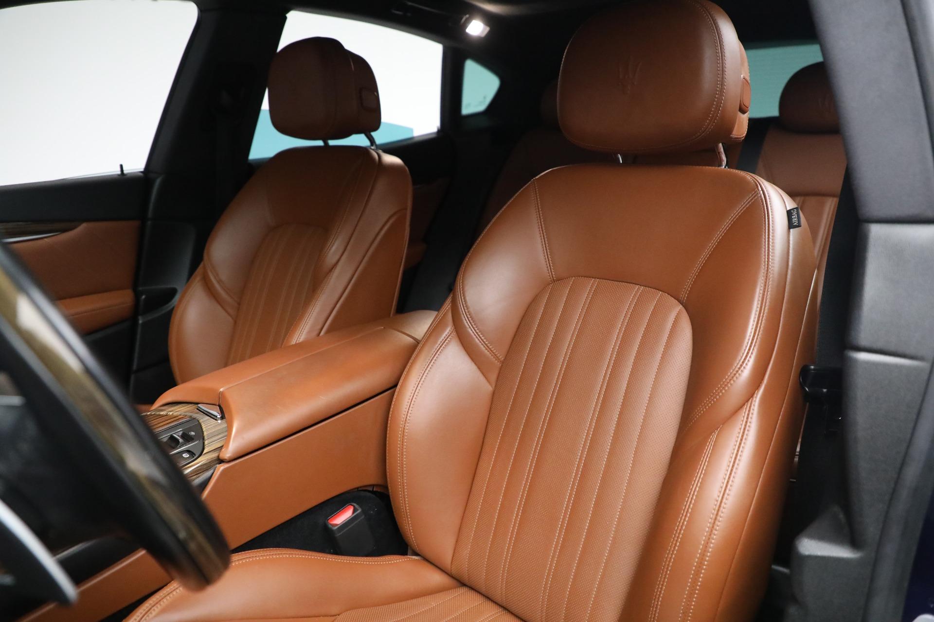 New 2019 Maserati Levante Q4 GranLusso For Sale In Greenwich, CT. Alfa Romeo of Greenwich, M2207 2678_p15