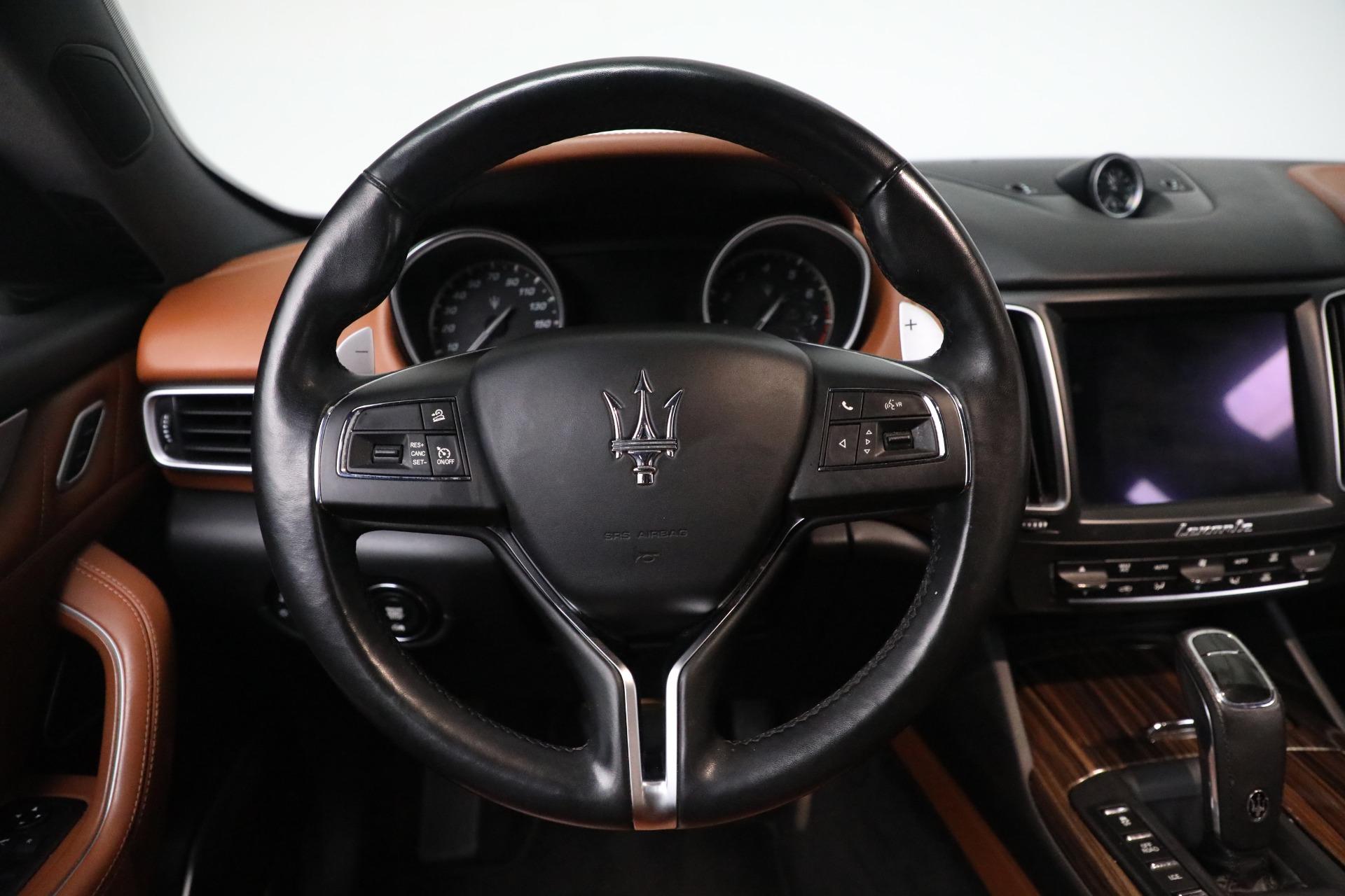 New 2019 Maserati Levante Q4 GranLusso For Sale In Greenwich, CT. Alfa Romeo of Greenwich, M2207 2678_p16
