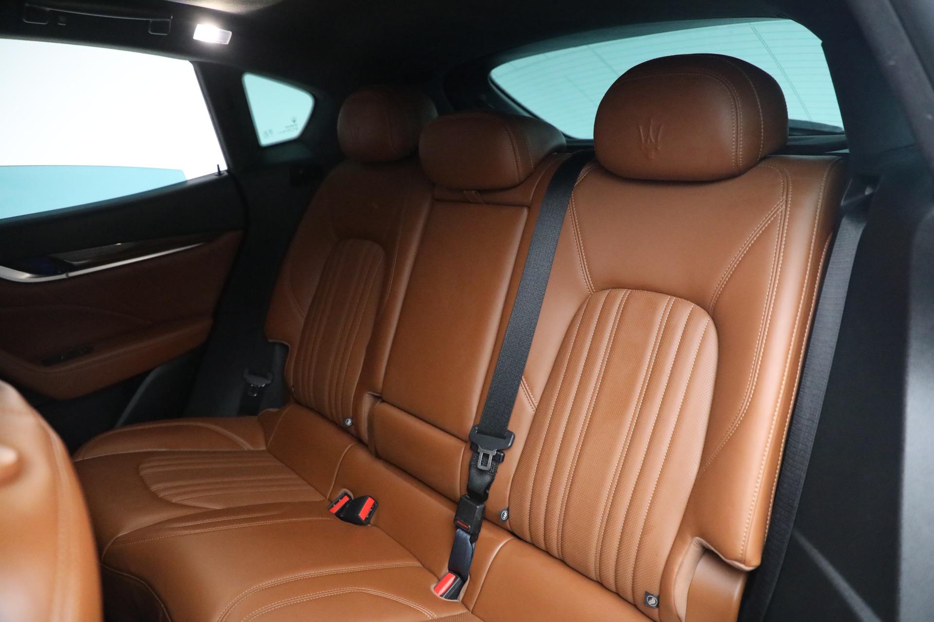 New 2019 Maserati Levante Q4 GranLusso For Sale In Greenwich, CT. Alfa Romeo of Greenwich, M2207 2678_p20