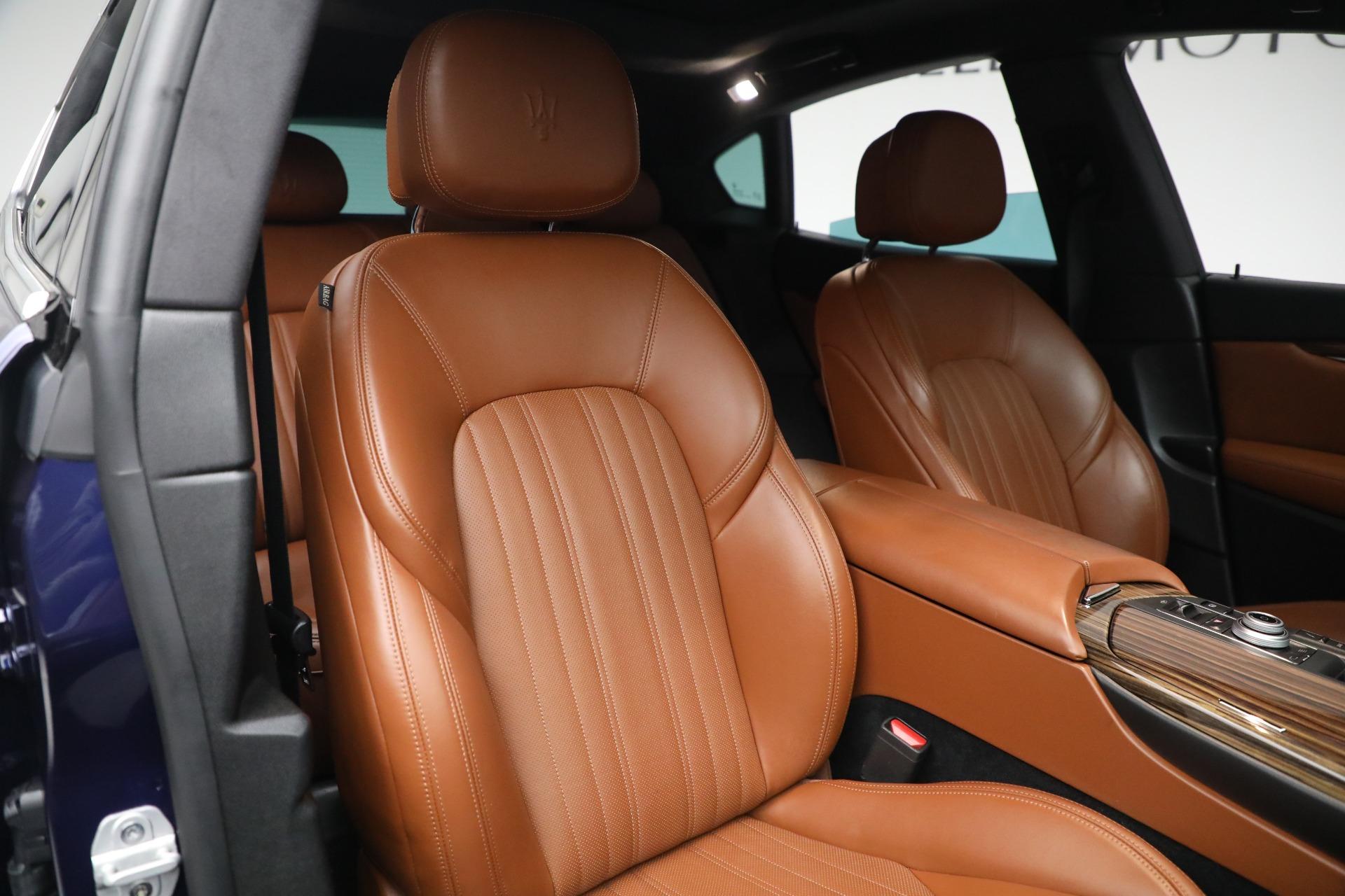 New 2019 Maserati Levante Q4 GranLusso For Sale In Greenwich, CT. Alfa Romeo of Greenwich, M2207 2678_p21