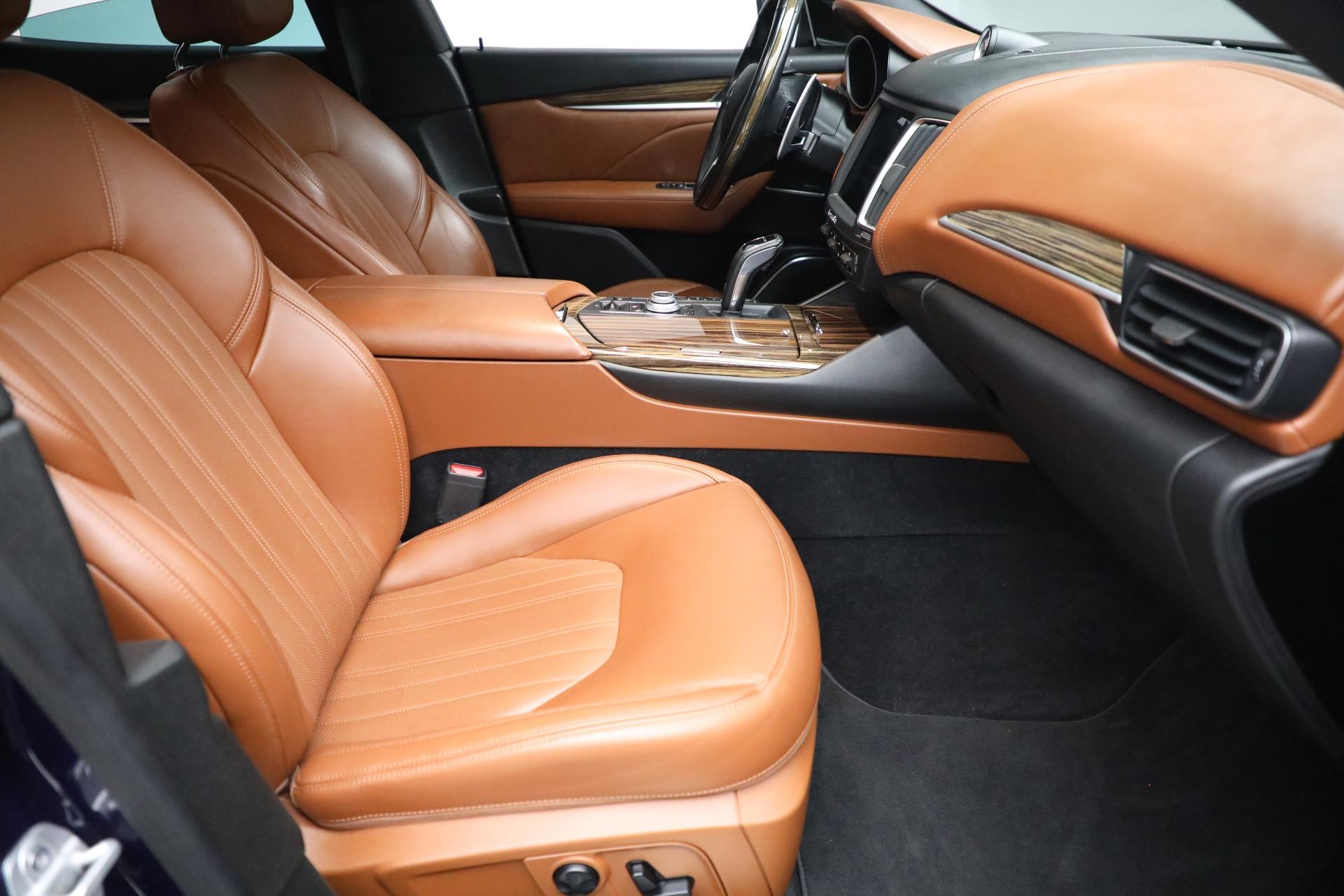 New 2019 Maserati Levante Q4 GranLusso For Sale In Greenwich, CT. Alfa Romeo of Greenwich, M2207 2678_p22