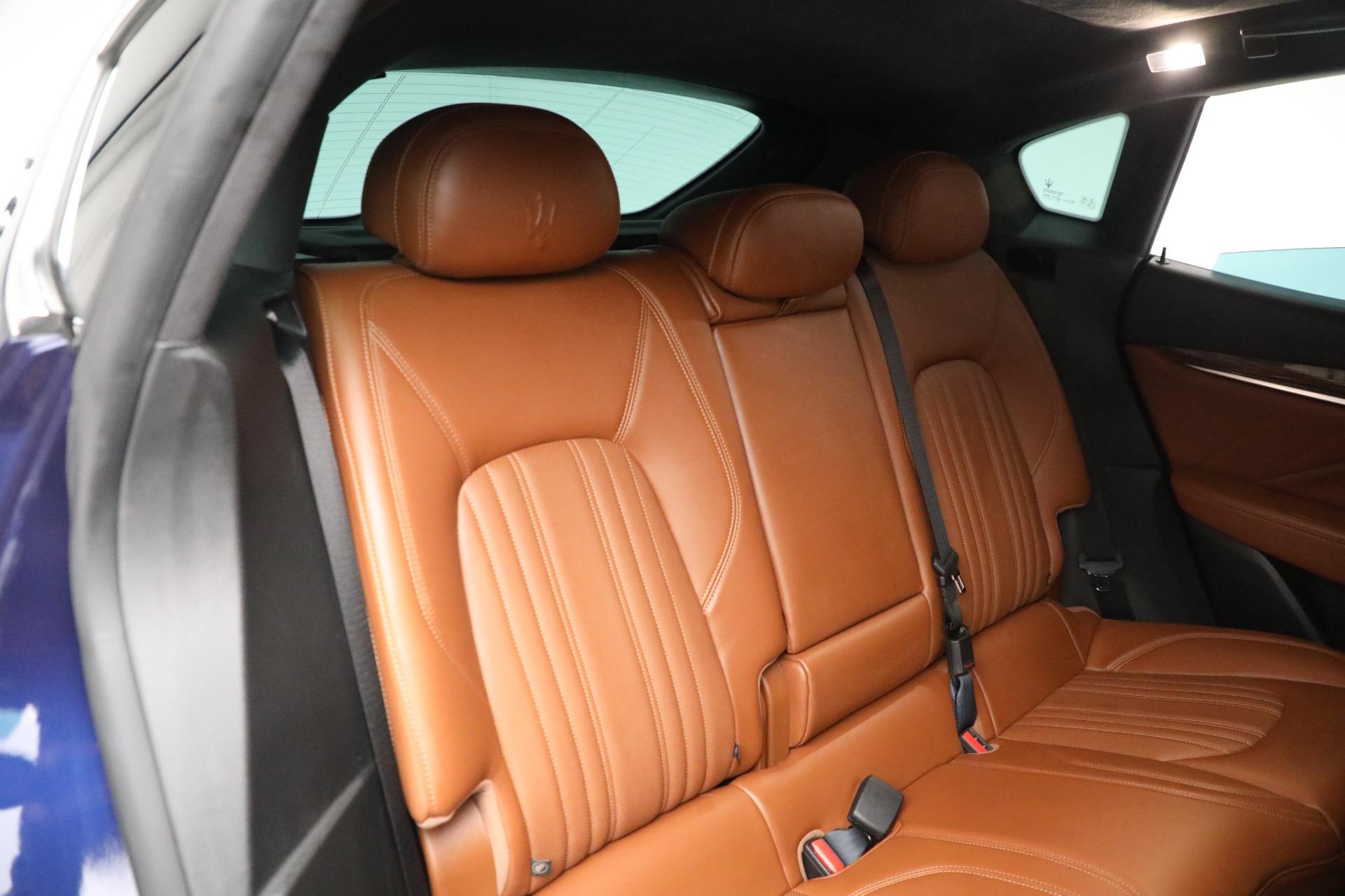 New 2019 Maserati Levante Q4 GranLusso For Sale In Greenwich, CT. Alfa Romeo of Greenwich, M2207 2678_p25