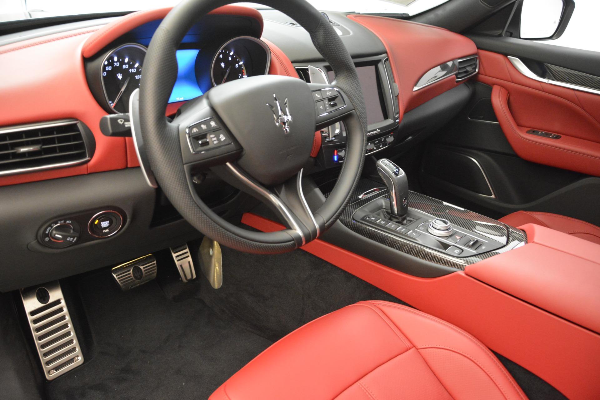 New 2019 Maserati Levante S Q4 GranSport For Sale In Greenwich, CT. Alfa Romeo of Greenwich, M2209 2679_p13
