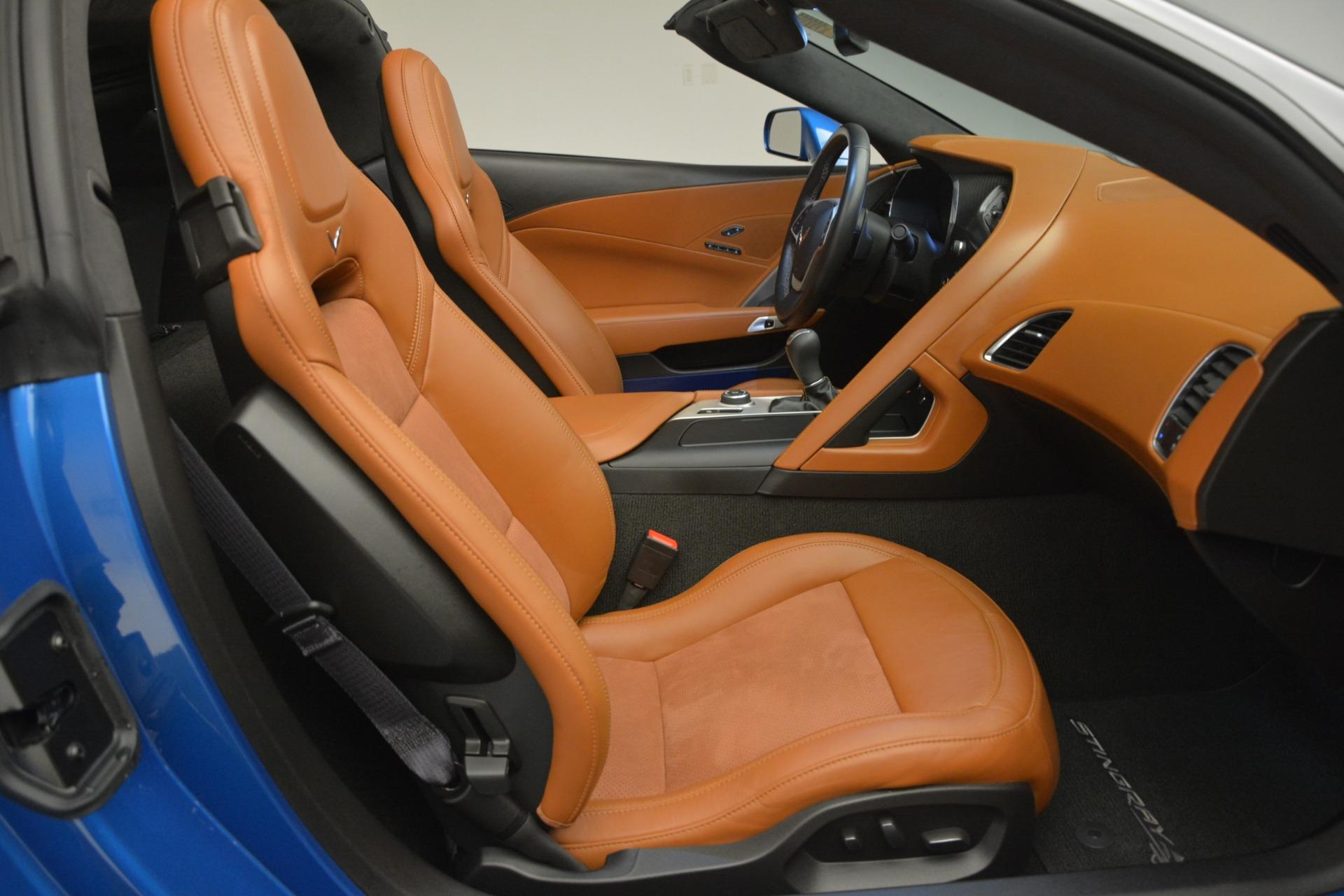 Used 2014 Chevrolet Corvette Stingray Z51 For Sale In Greenwich, CT. Alfa Romeo of Greenwich, 7440 2703_p26