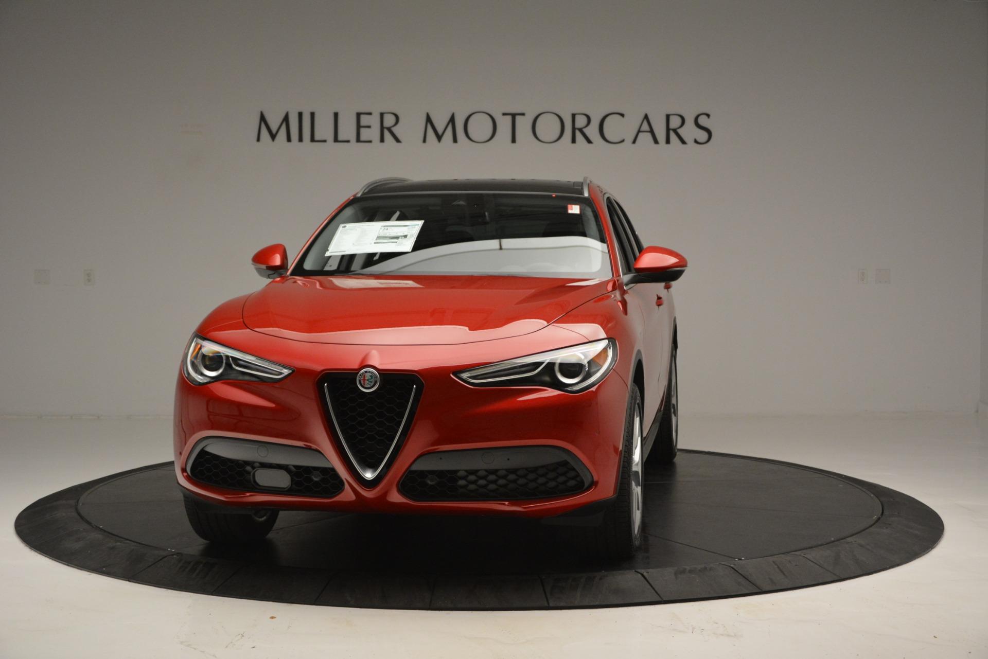New 2018 Alfa Romeo Stelvio Ti Lusso Q4 For Sale In Greenwich, CT. Alfa Romeo of Greenwich, L502 2704_main