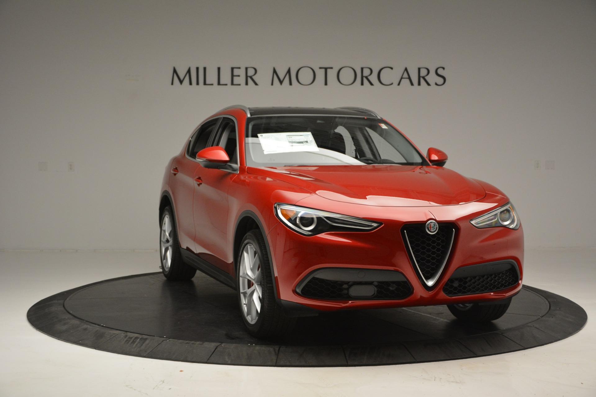 New 2018 Alfa Romeo Stelvio Ti Lusso Q4 For Sale In Greenwich, CT. Alfa Romeo of Greenwich, L502 2704_p11