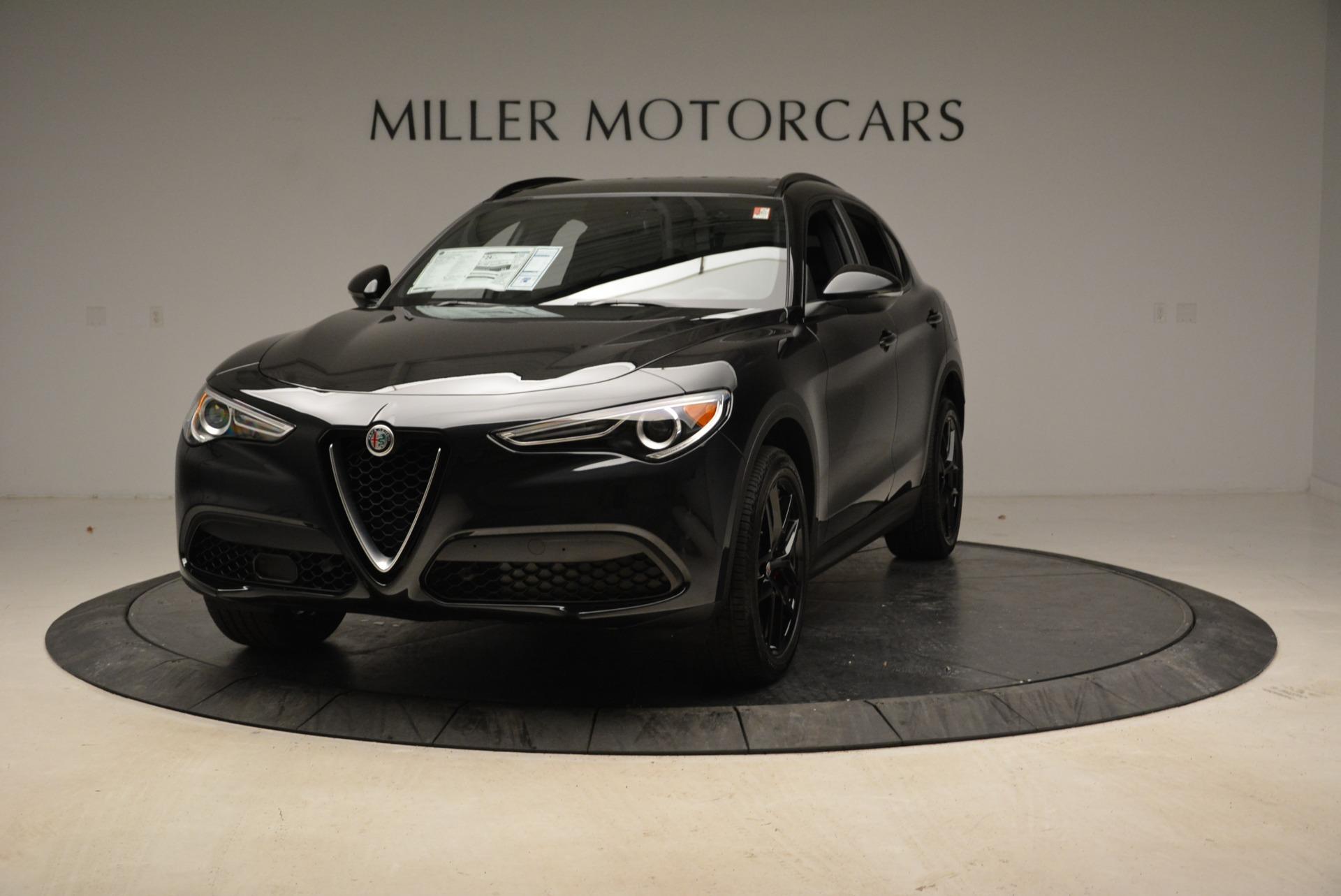 New 2019 Alfa Romeo Stelvio Sport Q4 For Sale In Greenwich, CT. Alfa Romeo of Greenwich, L503 2705_main