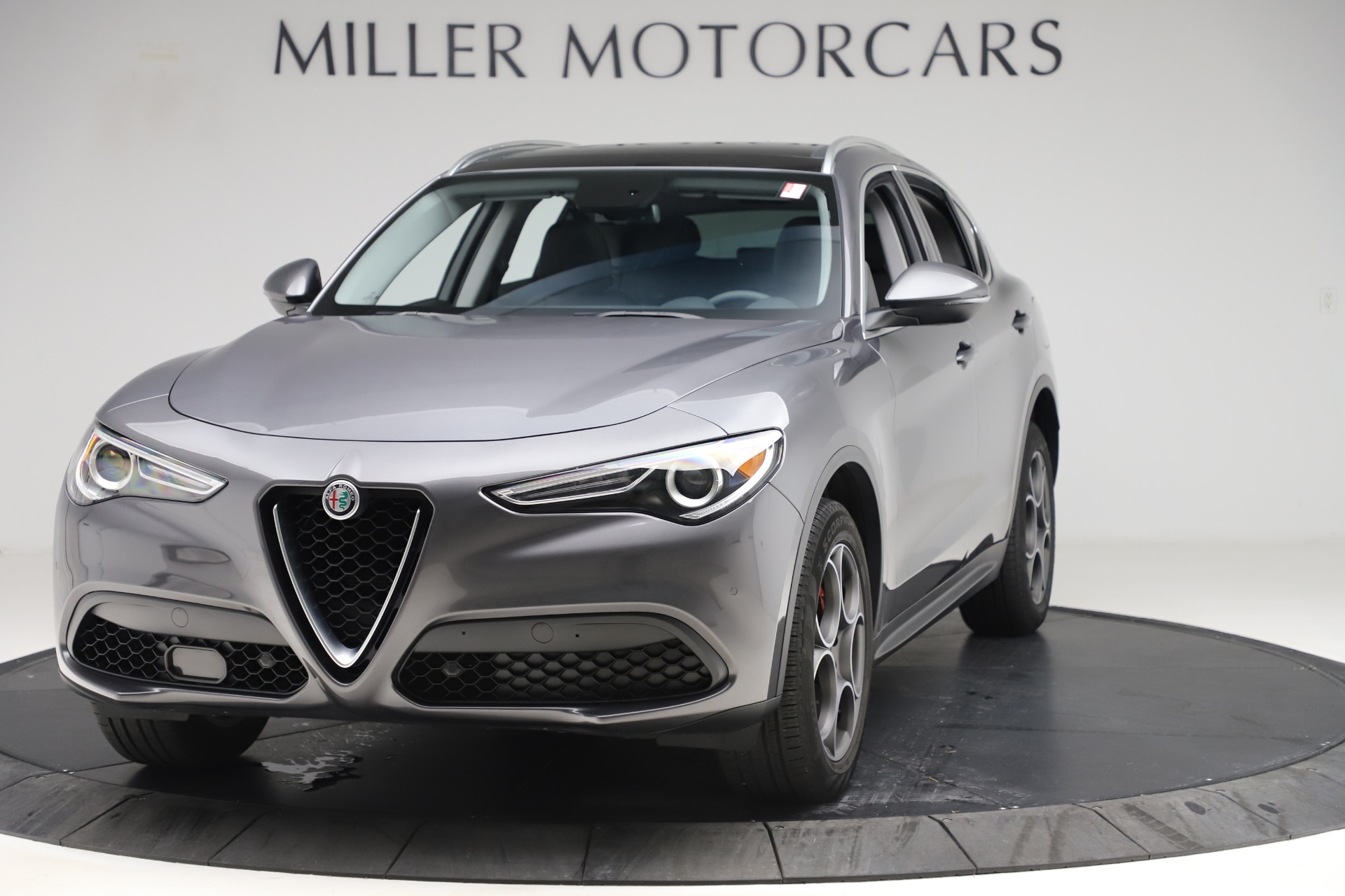 New 2019 Alfa Romeo Stelvio Q4 For Sale In Greenwich, CT. Alfa Romeo of Greenwich, L504