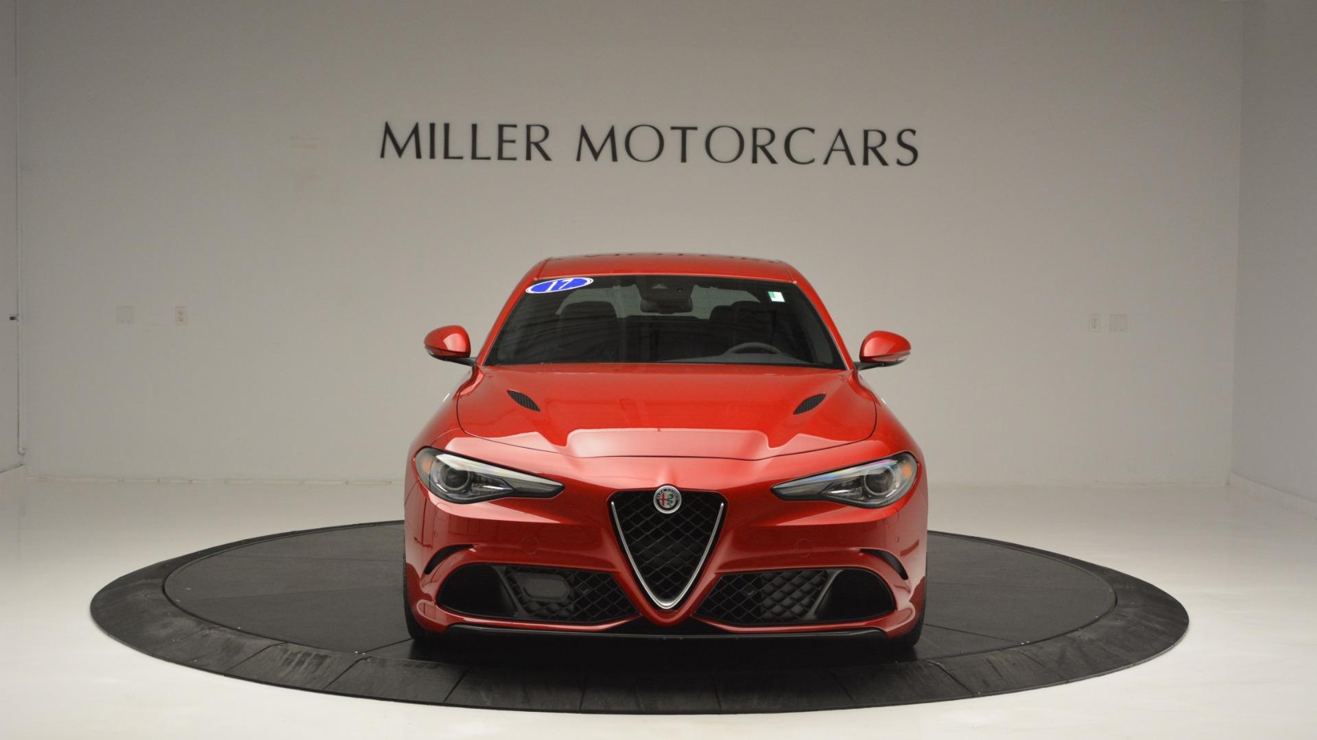 Used 2017 Alfa Romeo Giulia Quadrifoglio  For Sale In Greenwich, CT. Alfa Romeo of Greenwich, F1929A 2733_p13