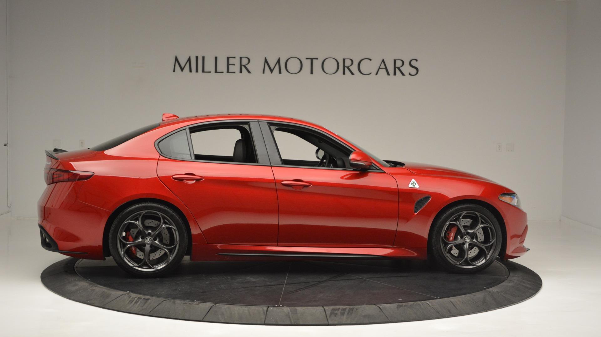 Used 2017 Alfa Romeo Giulia Quadrifoglio  For Sale In Greenwich, CT. Alfa Romeo of Greenwich, F1929A 2733_p9
