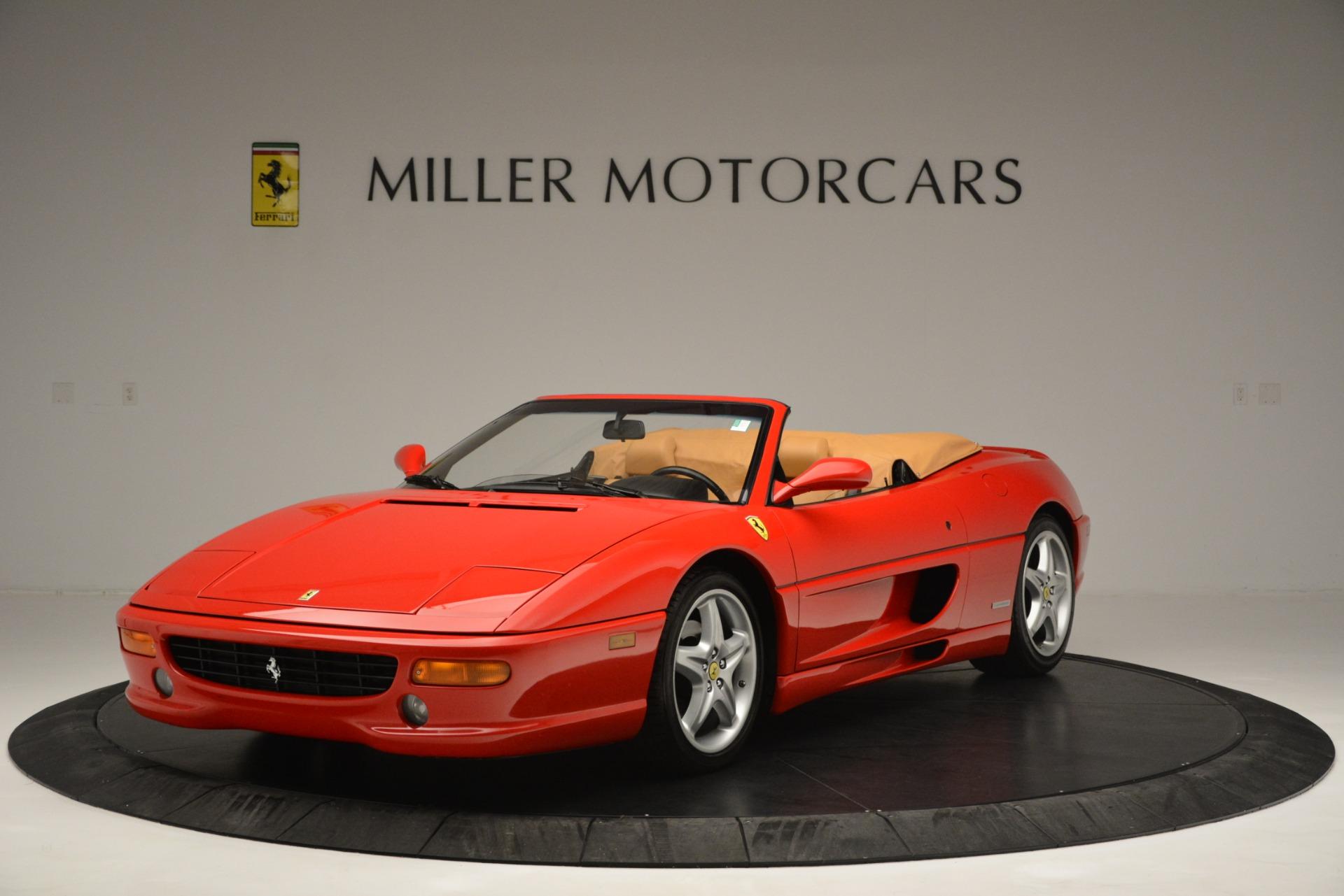 Used 1997 Ferrari 355 Spider 6-Speed Manual For Sale In Greenwich, CT. Alfa Romeo of Greenwich, F1889A 2735_main