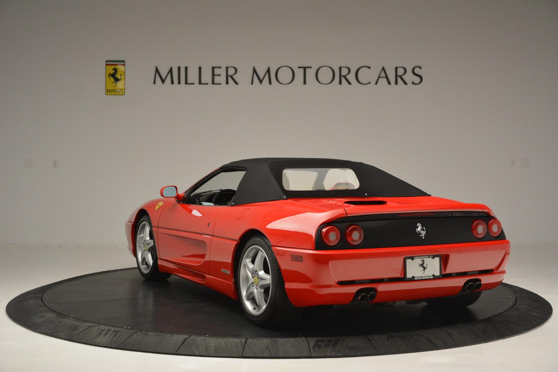 Used 1997 Ferrari 355 Spider 6-Speed Manual For Sale In Greenwich, CT. Alfa Romeo of Greenwich, F1889A 2735_p17