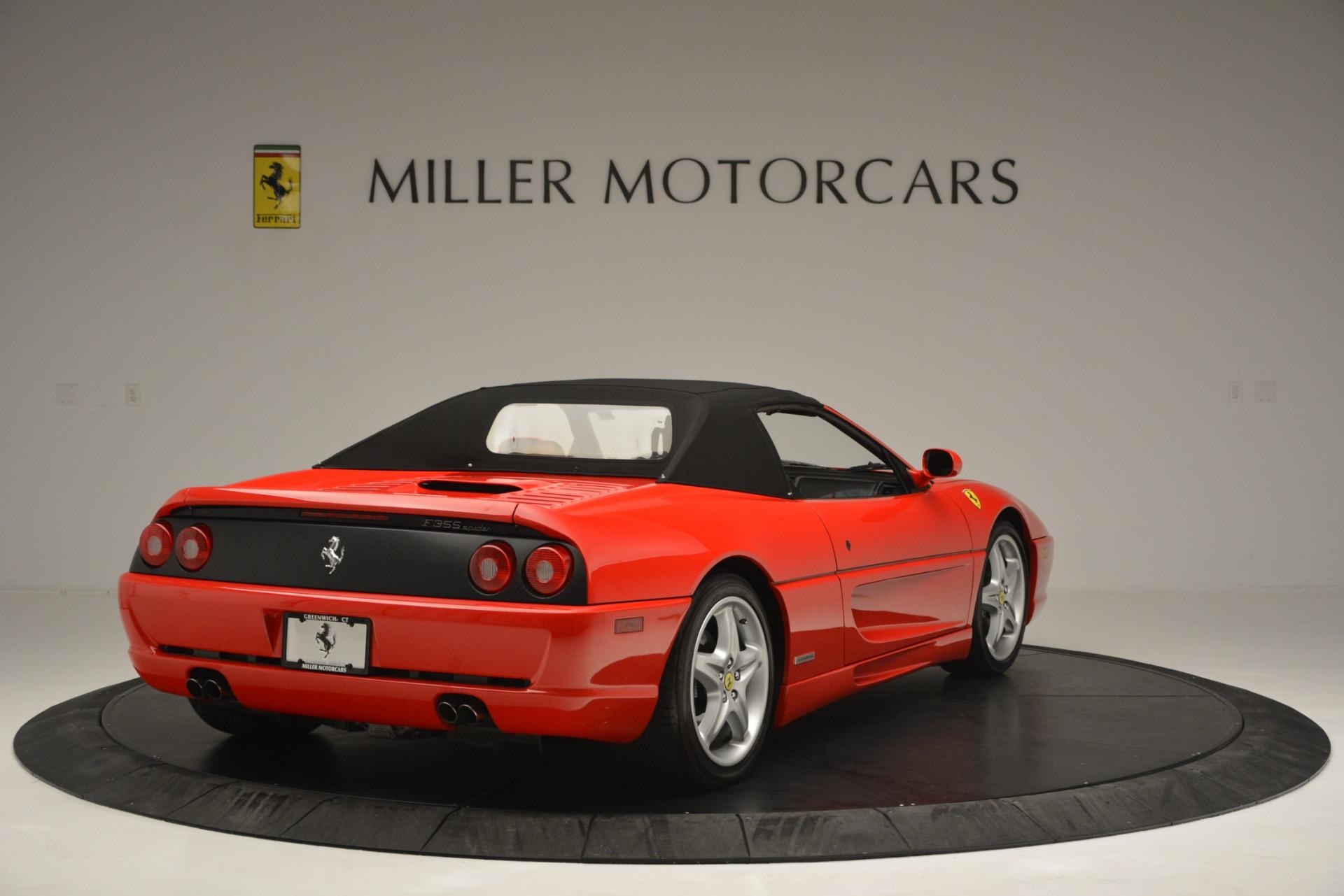 Used 1997 Ferrari 355 Spider 6-Speed Manual For Sale In Greenwich, CT. Alfa Romeo of Greenwich, F1889A 2735_p19