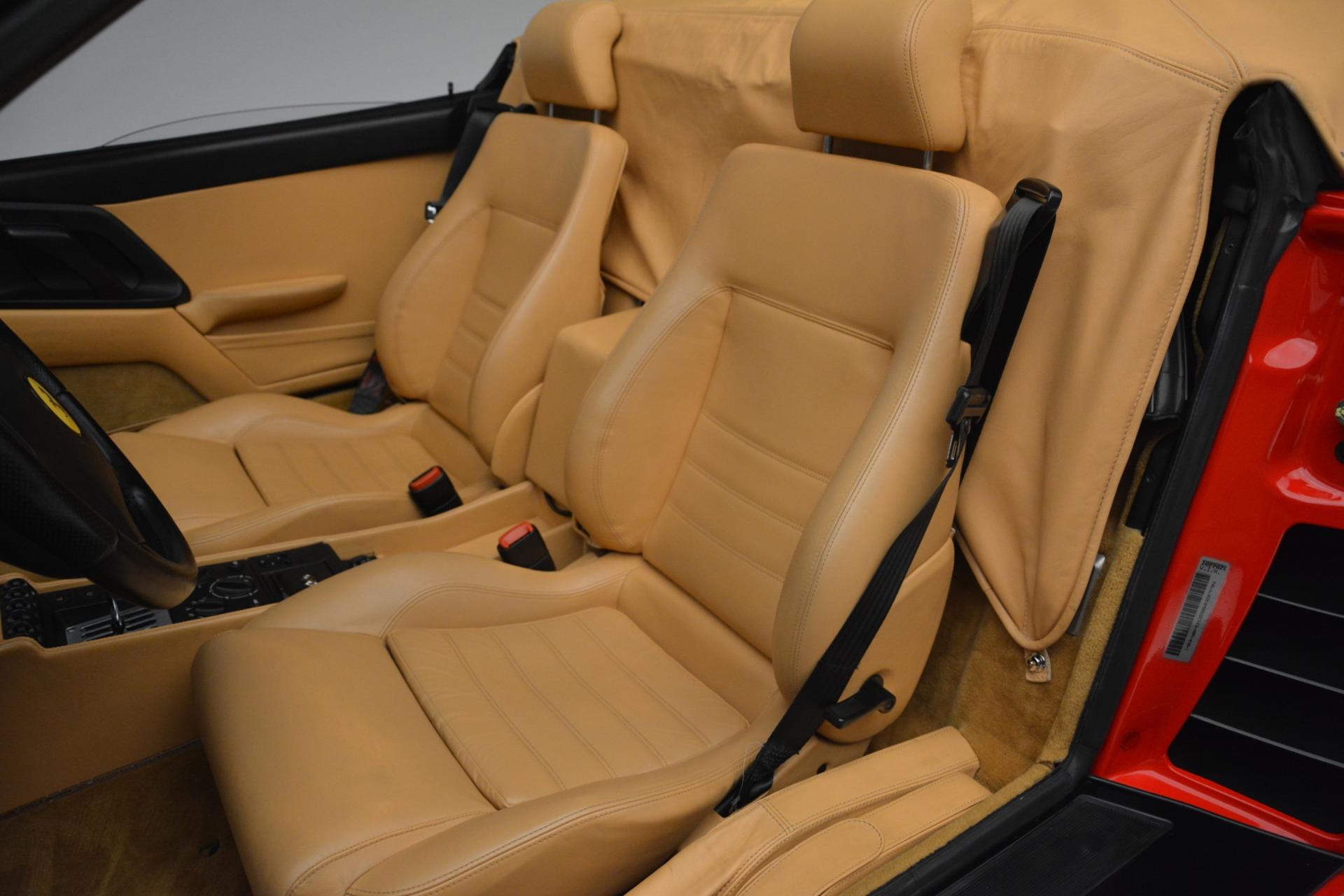 Used 1997 Ferrari 355 Spider 6-Speed Manual For Sale In Greenwich, CT. Alfa Romeo of Greenwich, F1889A 2735_p30