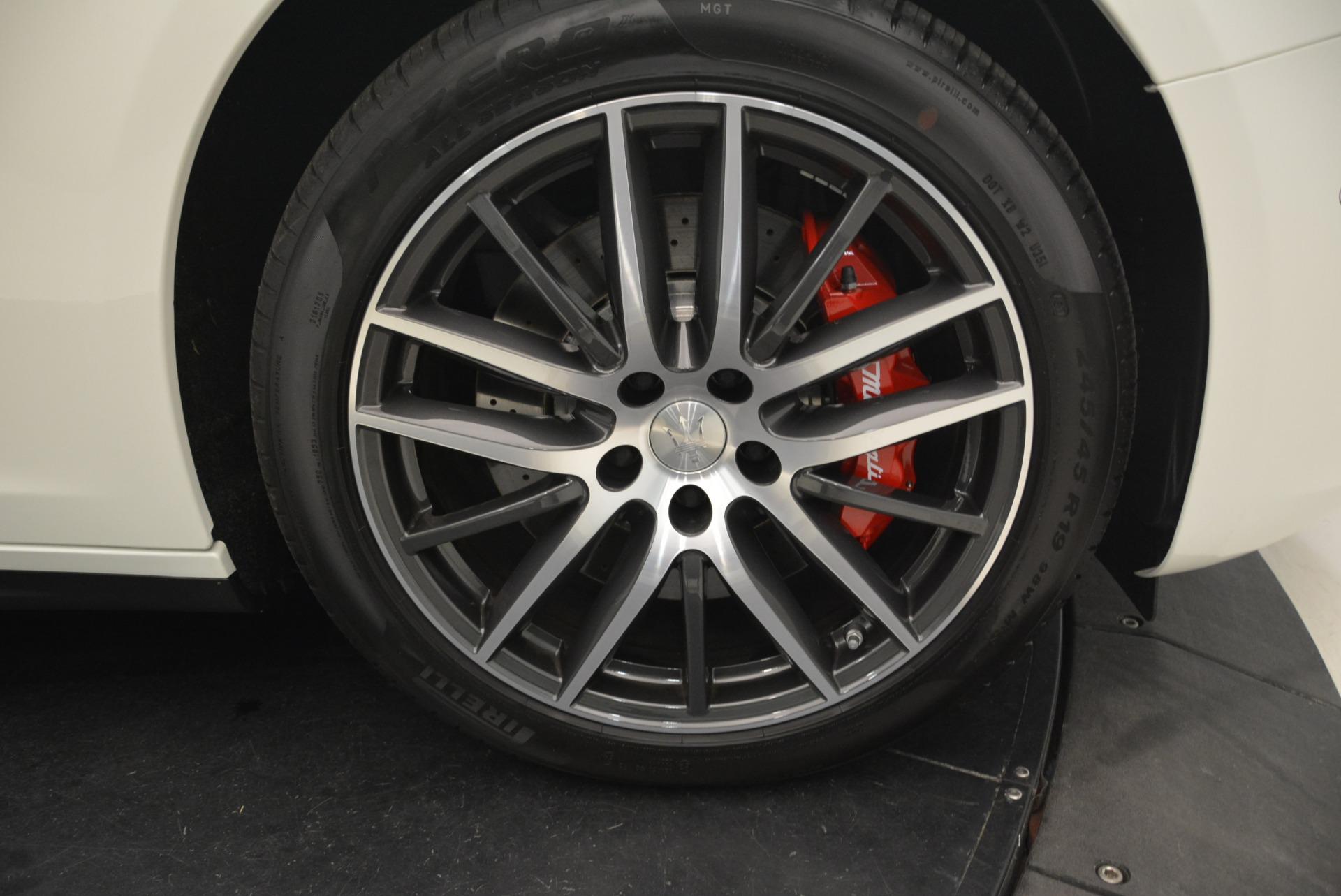 Used 2019 Maserati Ghibli S Q4 For Sale In Greenwich, CT. Alfa Romeo of Greenwich, M2212 2739_p12