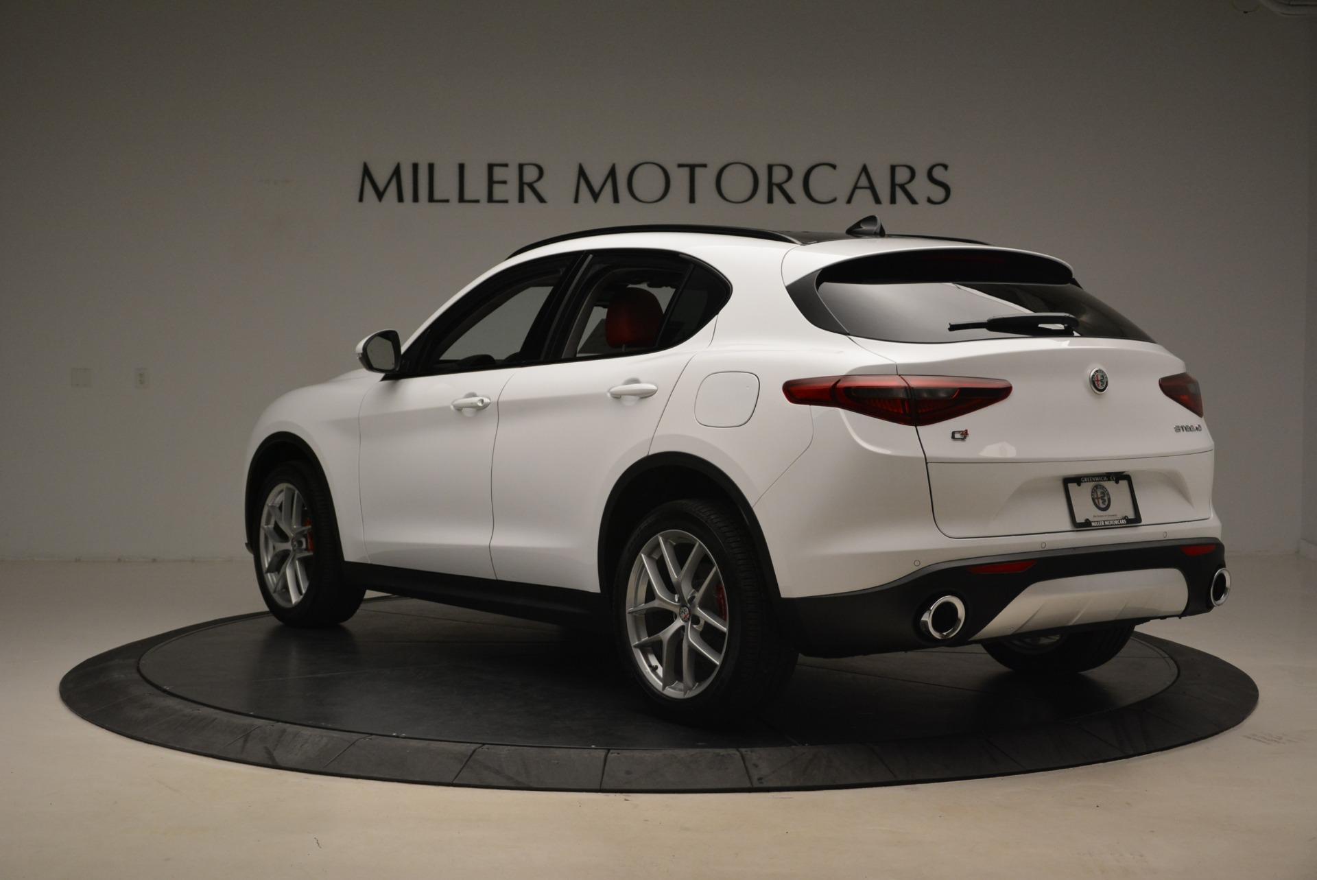 New 2019 Alfa Romeo Stelvio Ti Sport Q4 For Sale In Greenwich, CT. Alfa Romeo of Greenwich, LW264 2741_p5