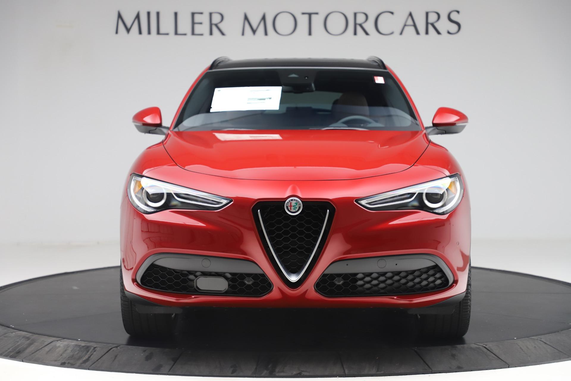 New 2019 Alfa Romeo Stelvio Ti Sport Q4 For Sale In Greenwich, CT. Alfa Romeo of Greenwich, LW266 2744_p12