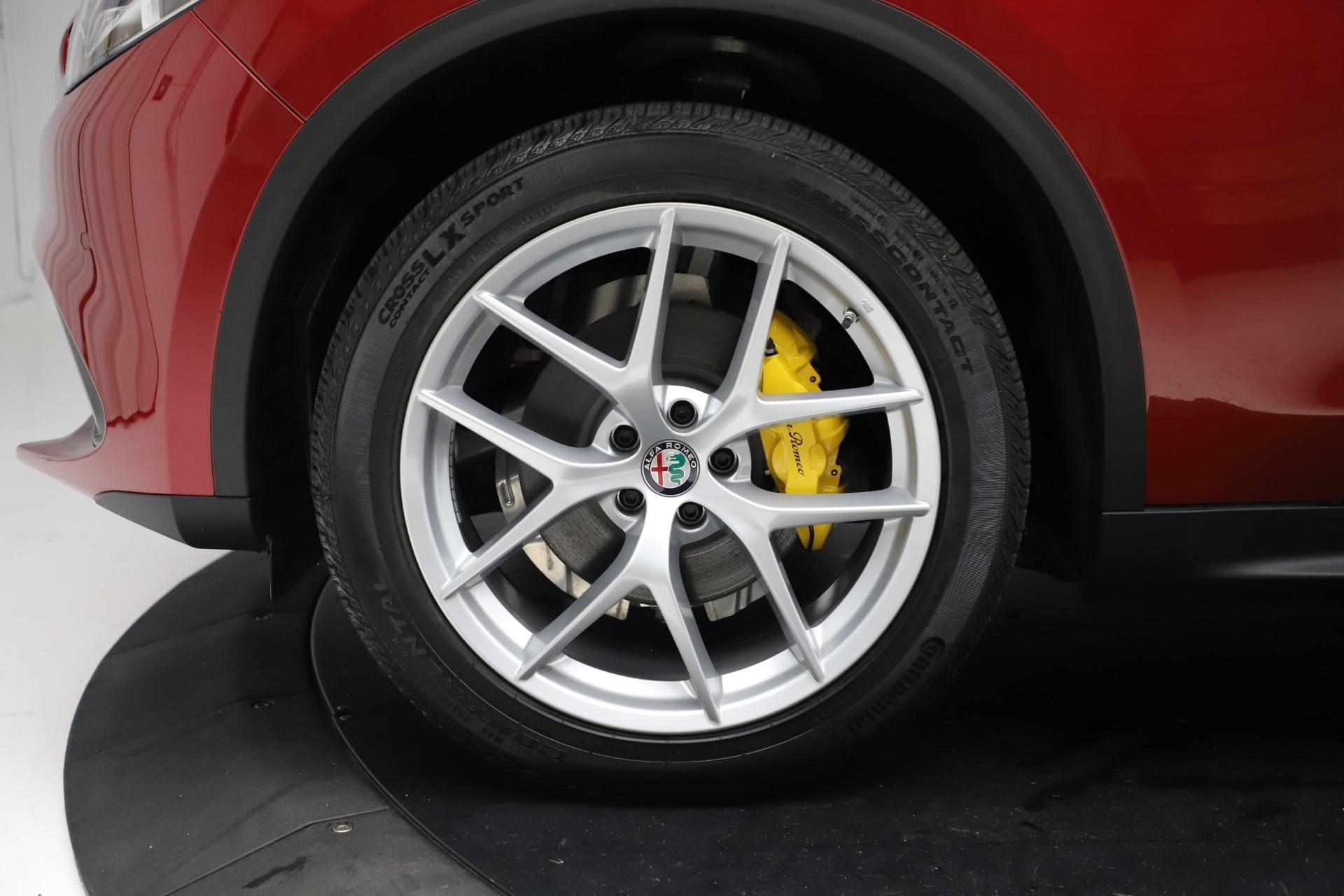 New 2019 Alfa Romeo Stelvio Ti Sport Q4 For Sale In Greenwich, CT. Alfa Romeo of Greenwich, LW266 2744_p30