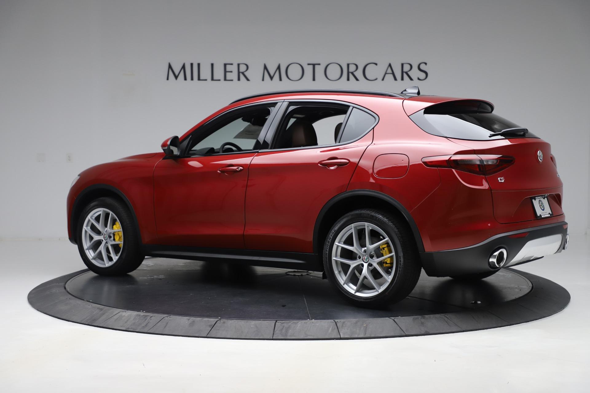 New 2019 Alfa Romeo Stelvio Ti Sport Q4 For Sale In Greenwich, CT. Alfa Romeo of Greenwich, LW266 2744_p4