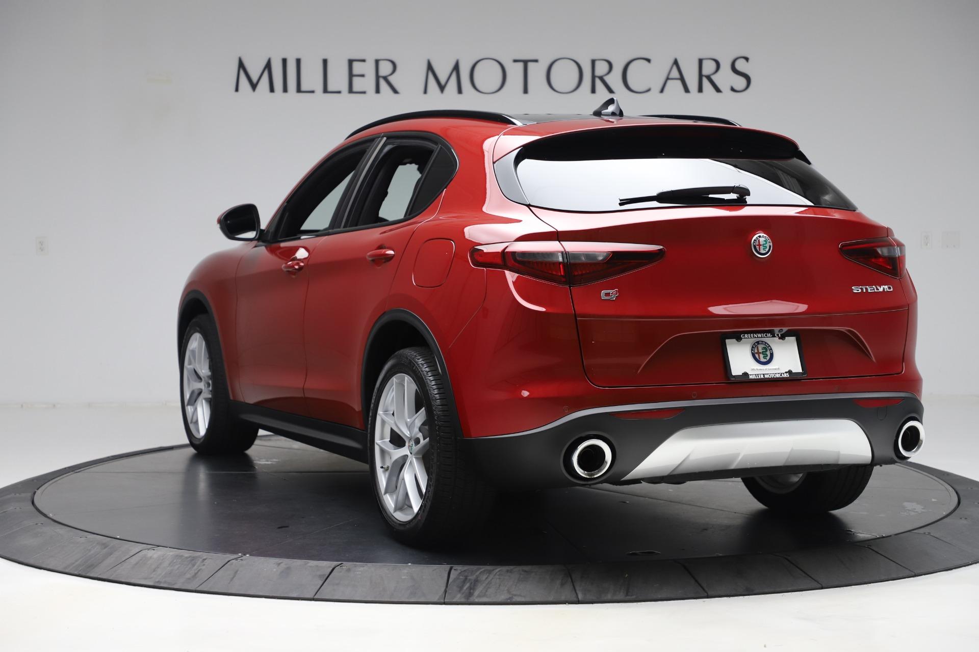 New 2019 Alfa Romeo Stelvio Ti Sport Q4 For Sale In Greenwich, CT. Alfa Romeo of Greenwich, LW266 2744_p5