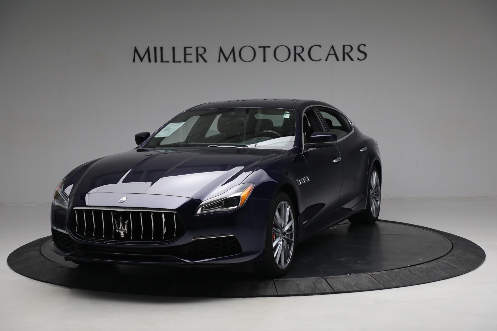 New 2019 Maserati Quattroporte S Q4 GranLusso For Sale In Greenwich, CT. Alfa Romeo of Greenwich, W646 2746_main