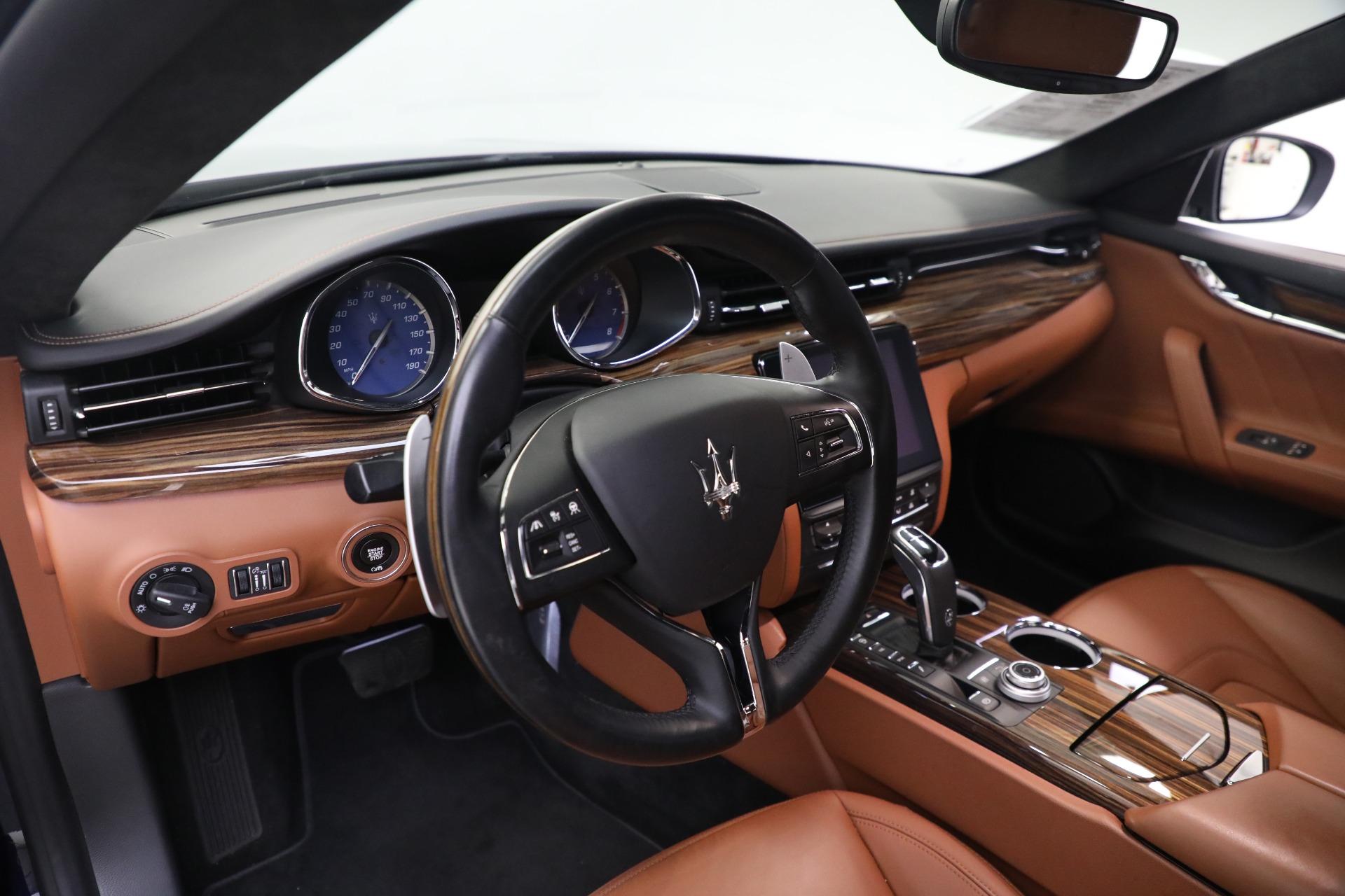 New 2019 Maserati Quattroporte S Q4 GranLusso For Sale In Greenwich, CT. Alfa Romeo of Greenwich, W646 2746_p14
