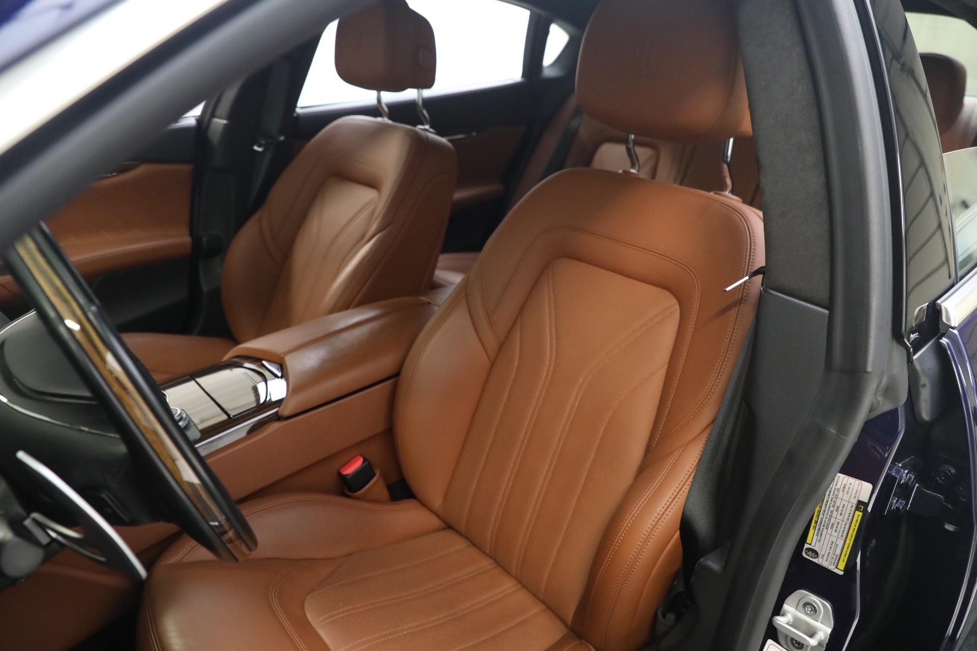 New 2019 Maserati Quattroporte S Q4 GranLusso For Sale In Greenwich, CT. Alfa Romeo of Greenwich, W646 2746_p15