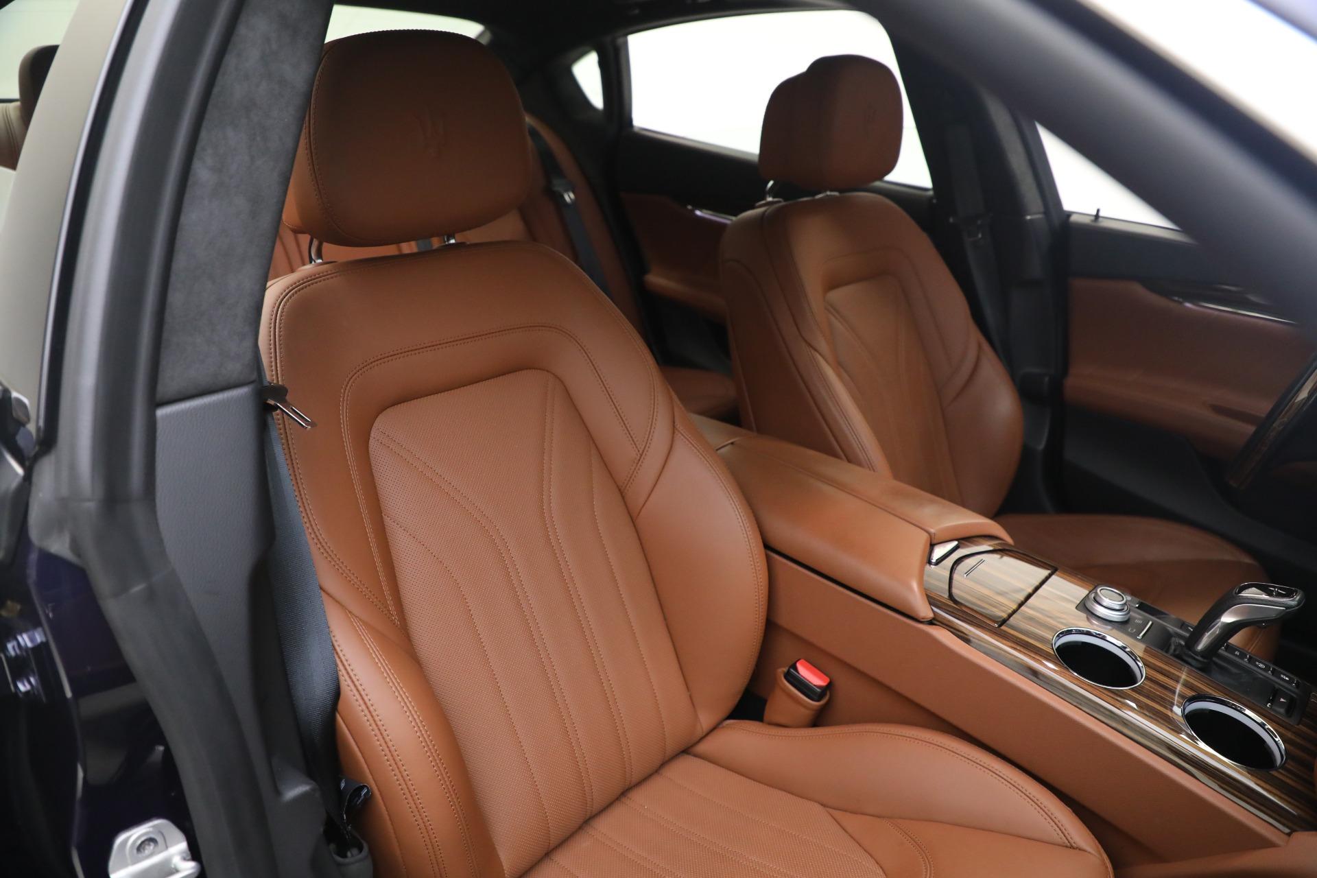 New 2019 Maserati Quattroporte S Q4 GranLusso For Sale In Greenwich, CT. Alfa Romeo of Greenwich, W646 2746_p20