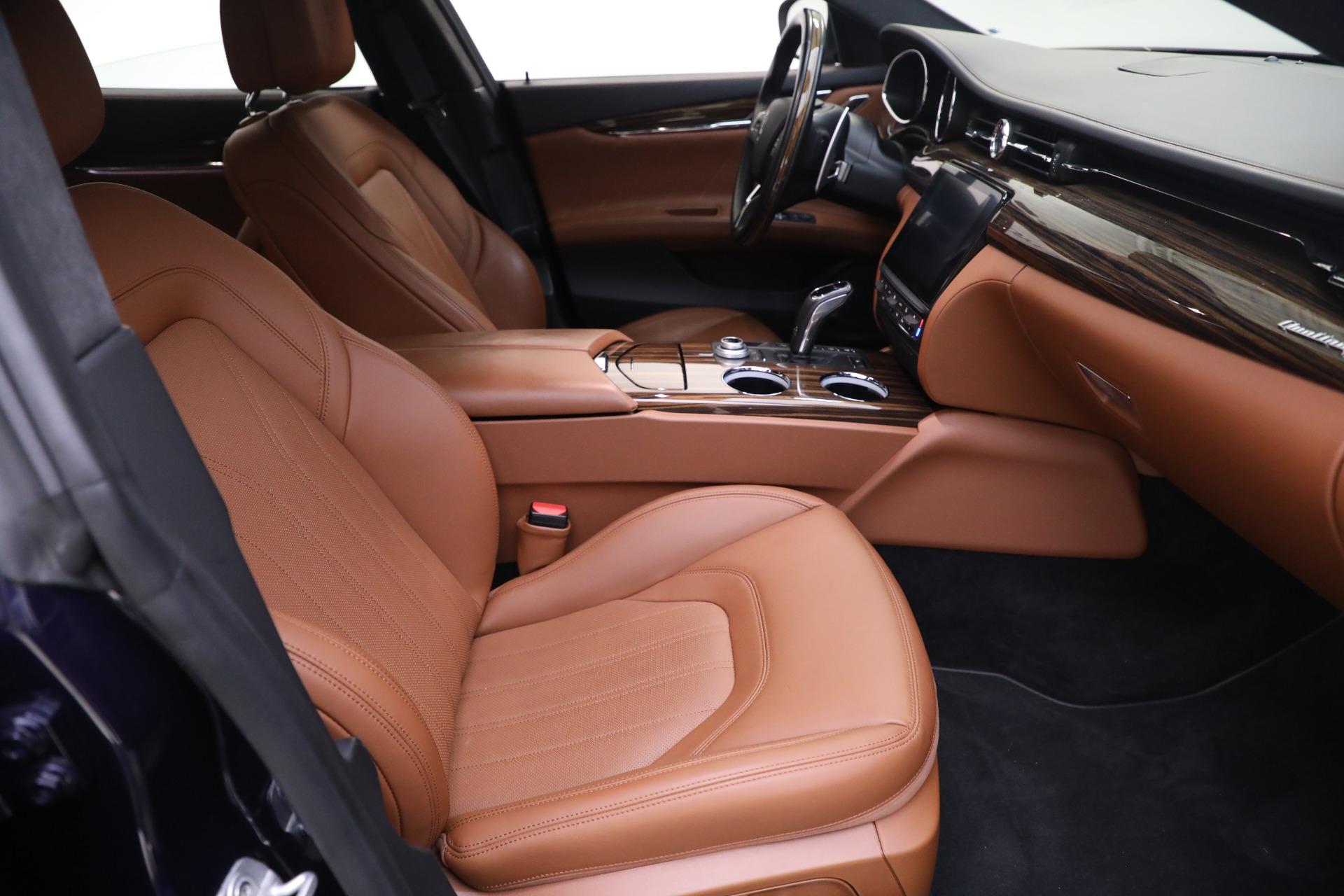 New 2019 Maserati Quattroporte S Q4 GranLusso For Sale In Greenwich, CT. Alfa Romeo of Greenwich, W646 2746_p21