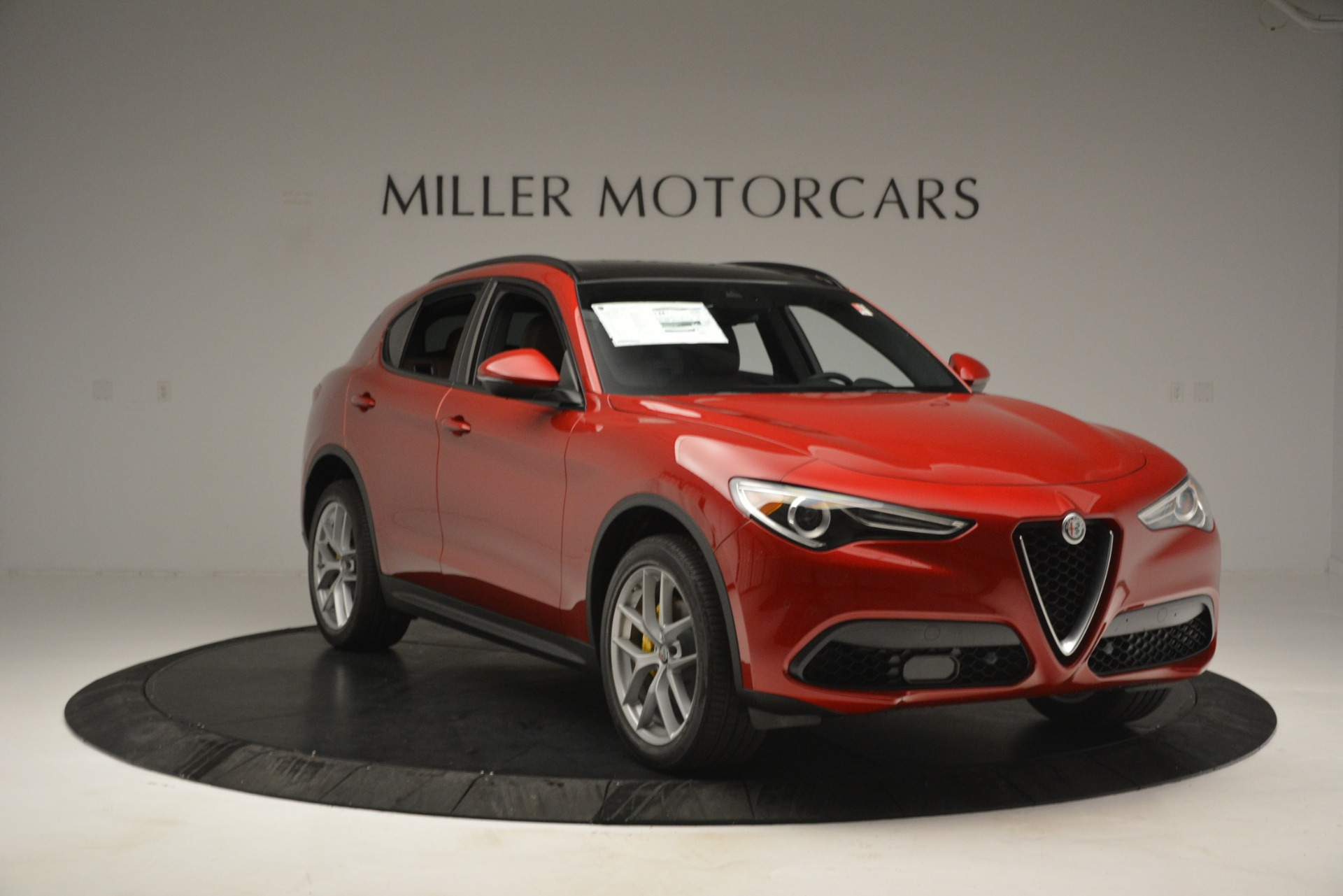 New 2019 Alfa Romeo Stelvio Ti Sport Q4 For Sale In Greenwich, CT. Alfa Romeo of Greenwich, LW268 2747_p11