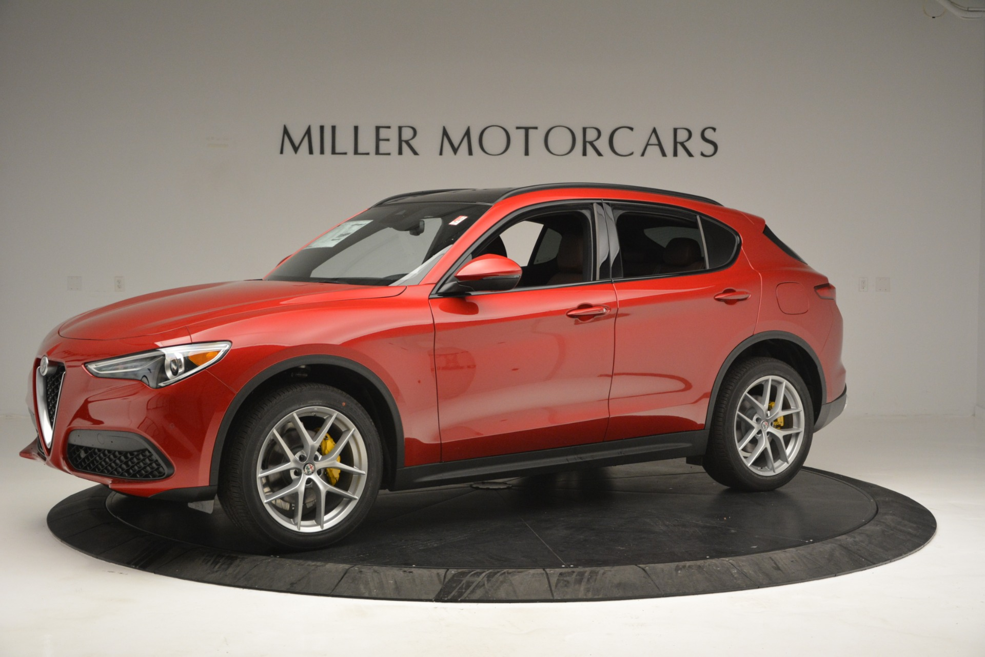 New 2019 Alfa Romeo Stelvio Ti Sport Q4 For Sale In Greenwich, CT. Alfa Romeo of Greenwich, LW268 2747_p2