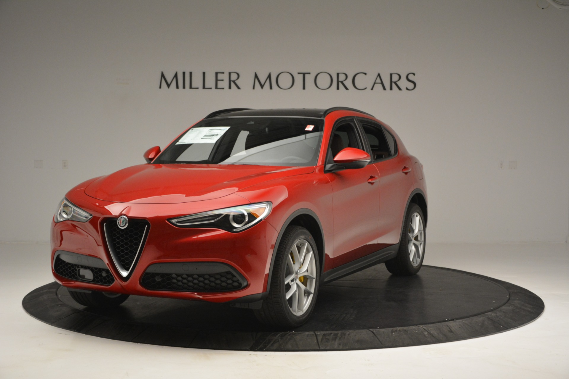New 2019 Alfa Romeo Stelvio Ti Sport Q4 For Sale In Greenwich, CT. Alfa Romeo of Greenwich, LW270 2749_main