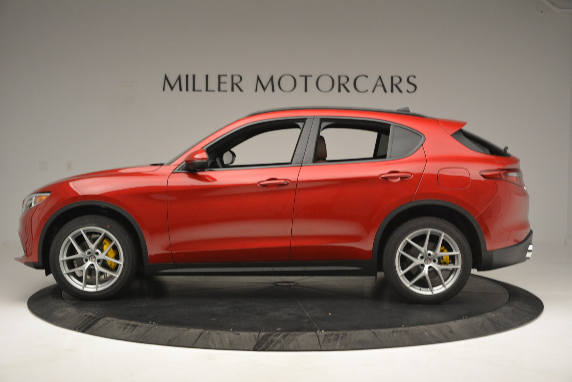 New 2019 Alfa Romeo Stelvio Ti Sport Q4 For Sale In Greenwich, CT. Alfa Romeo of Greenwich, LW270 2749_p3
