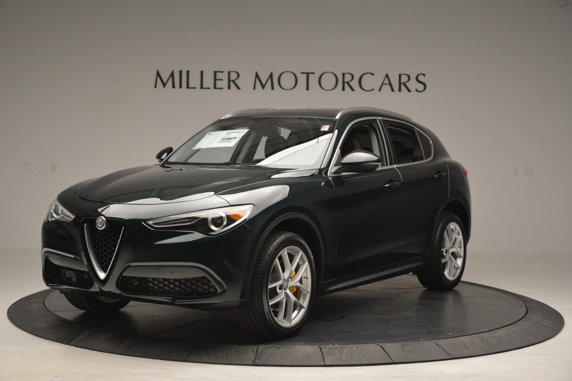 New 2019 Alfa Romeo Stelvio Q4 For Sale In Greenwich, CT. Alfa Romeo of Greenwich, L516 2761_main