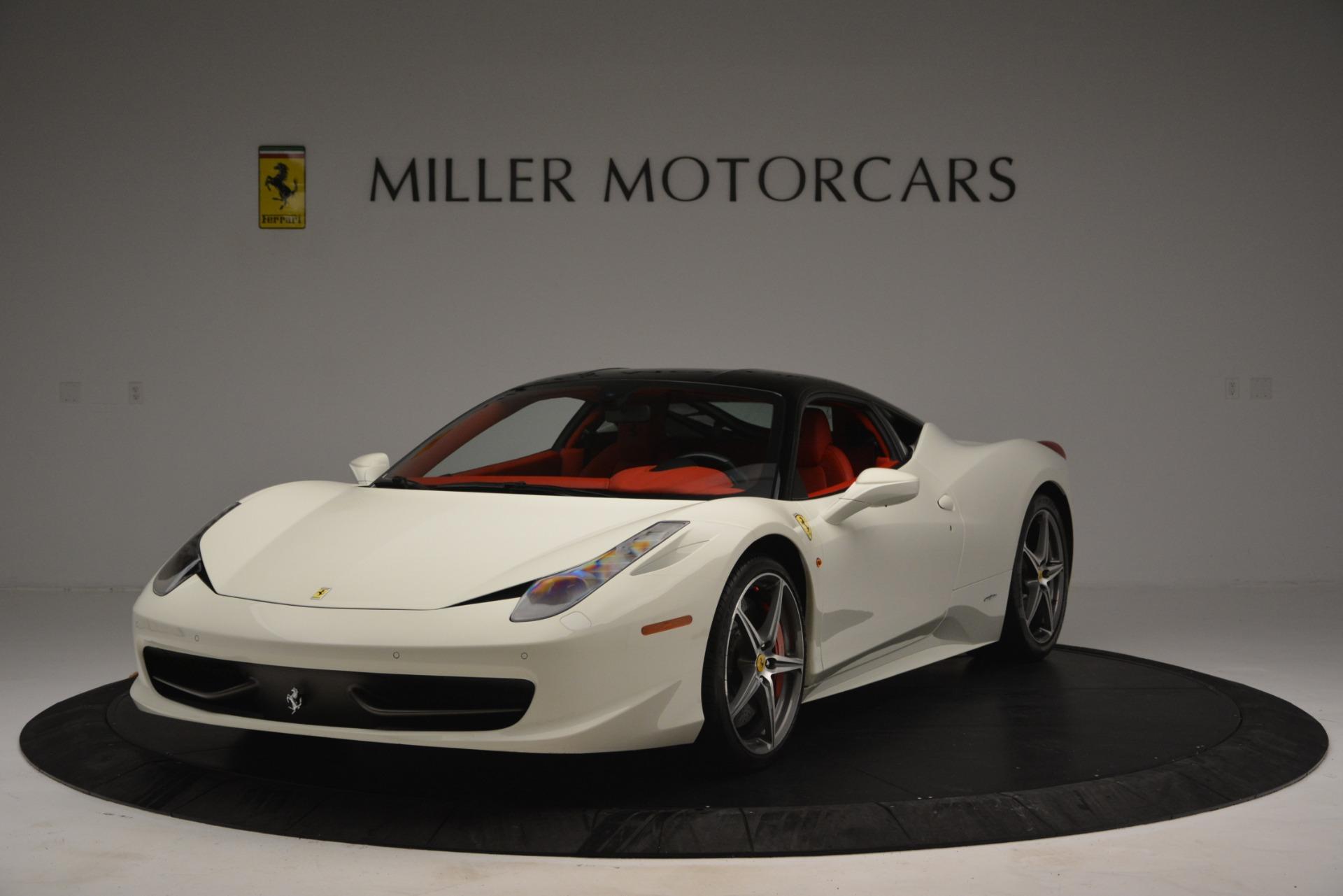 Used 2012 Ferrari 458 Italia  For Sale In Greenwich, CT. Alfa Romeo of Greenwich, 4525 2781_main