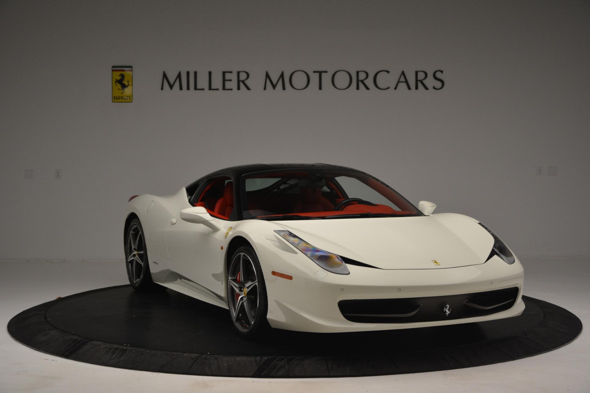Used 2012 Ferrari 458 Italia  For Sale In Greenwich, CT. Alfa Romeo of Greenwich, 4525 2781_p11