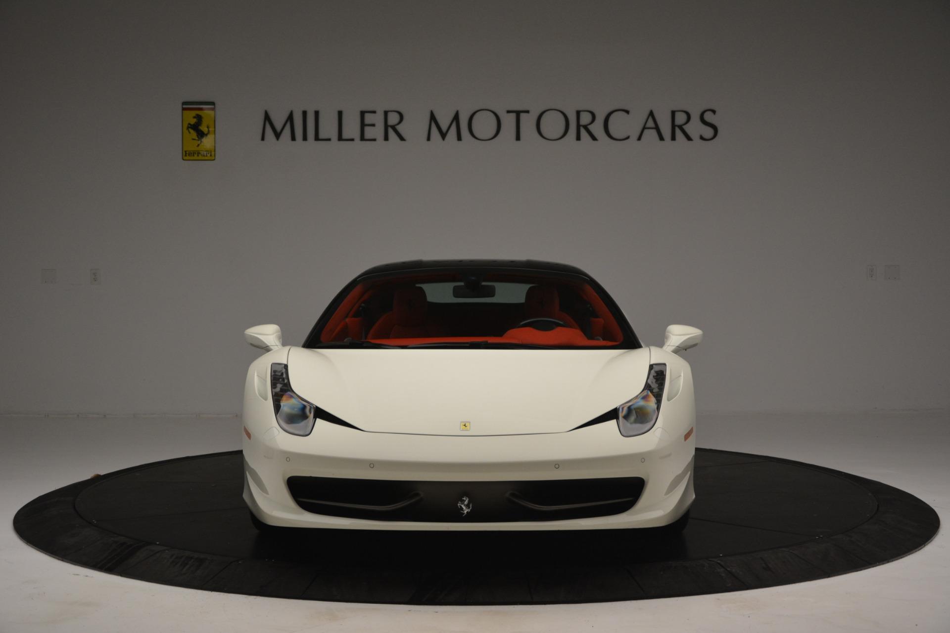 Used 2012 Ferrari 458 Italia  For Sale In Greenwich, CT. Alfa Romeo of Greenwich, 4525 2781_p12