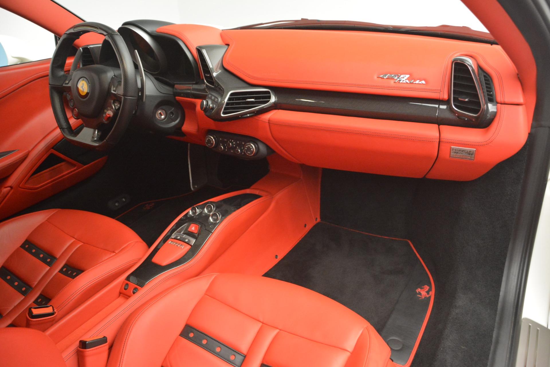 Used 2012 Ferrari 458 Italia  For Sale In Greenwich, CT. Alfa Romeo of Greenwich, 4525 2781_p17
