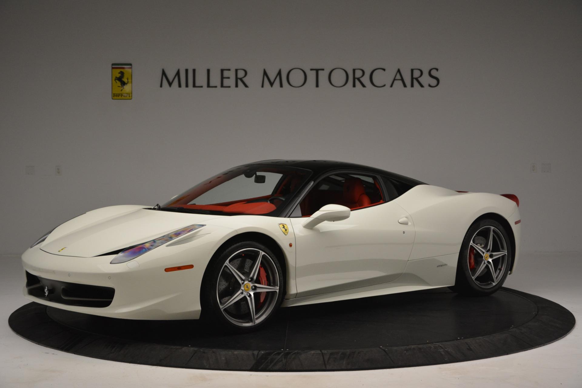 Used 2012 Ferrari 458 Italia  For Sale In Greenwich, CT. Alfa Romeo of Greenwich, 4525 2781_p2