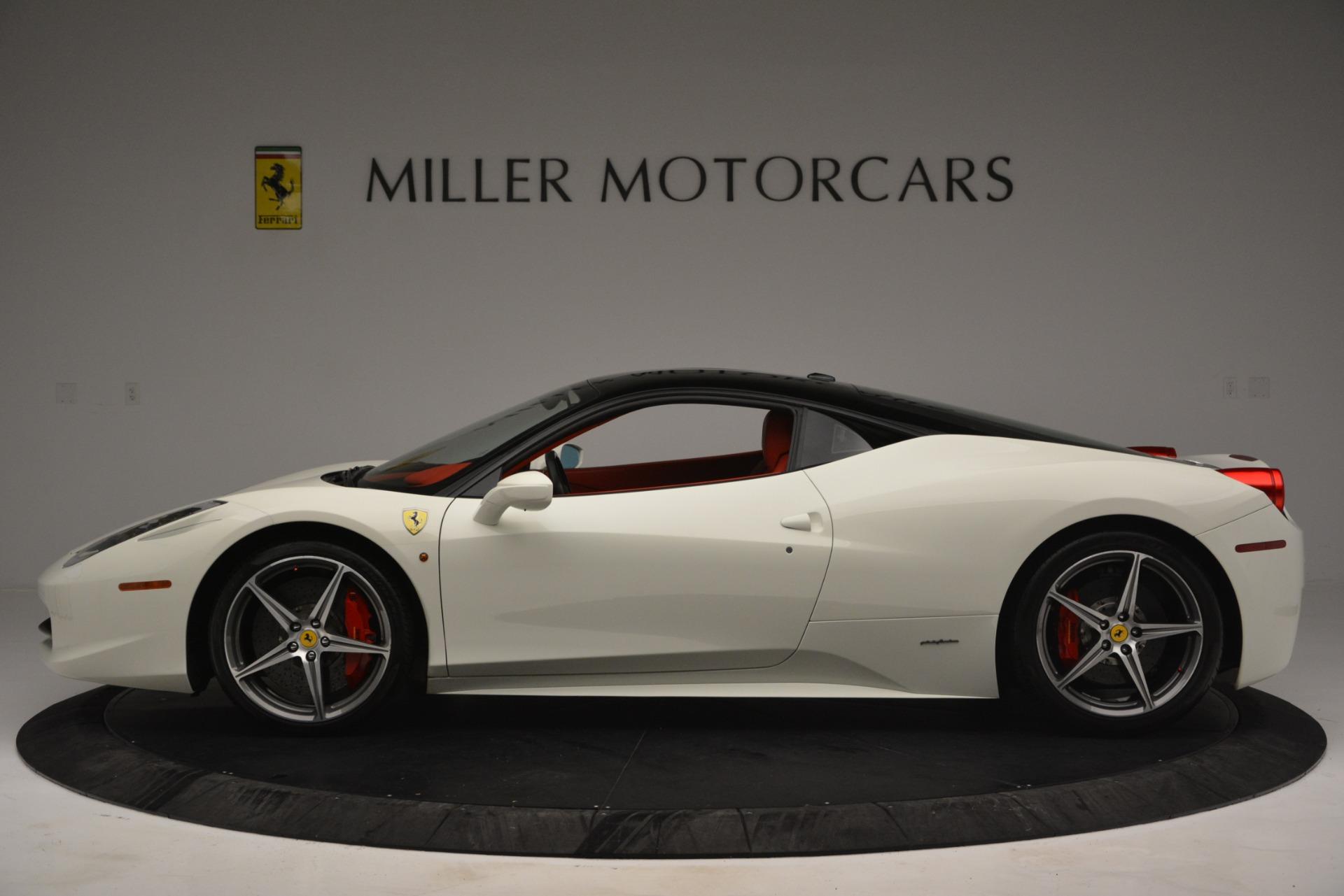 Used 2012 Ferrari 458 Italia  For Sale In Greenwich, CT. Alfa Romeo of Greenwich, 4525 2781_p3