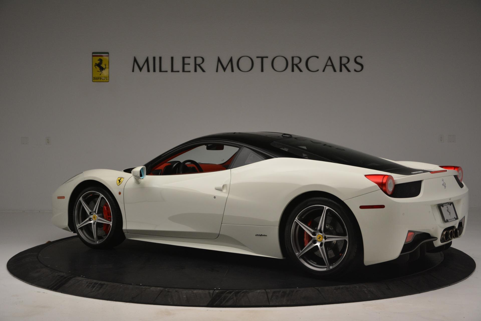Used 2012 Ferrari 458 Italia  For Sale In Greenwich, CT. Alfa Romeo of Greenwich, 4525 2781_p4