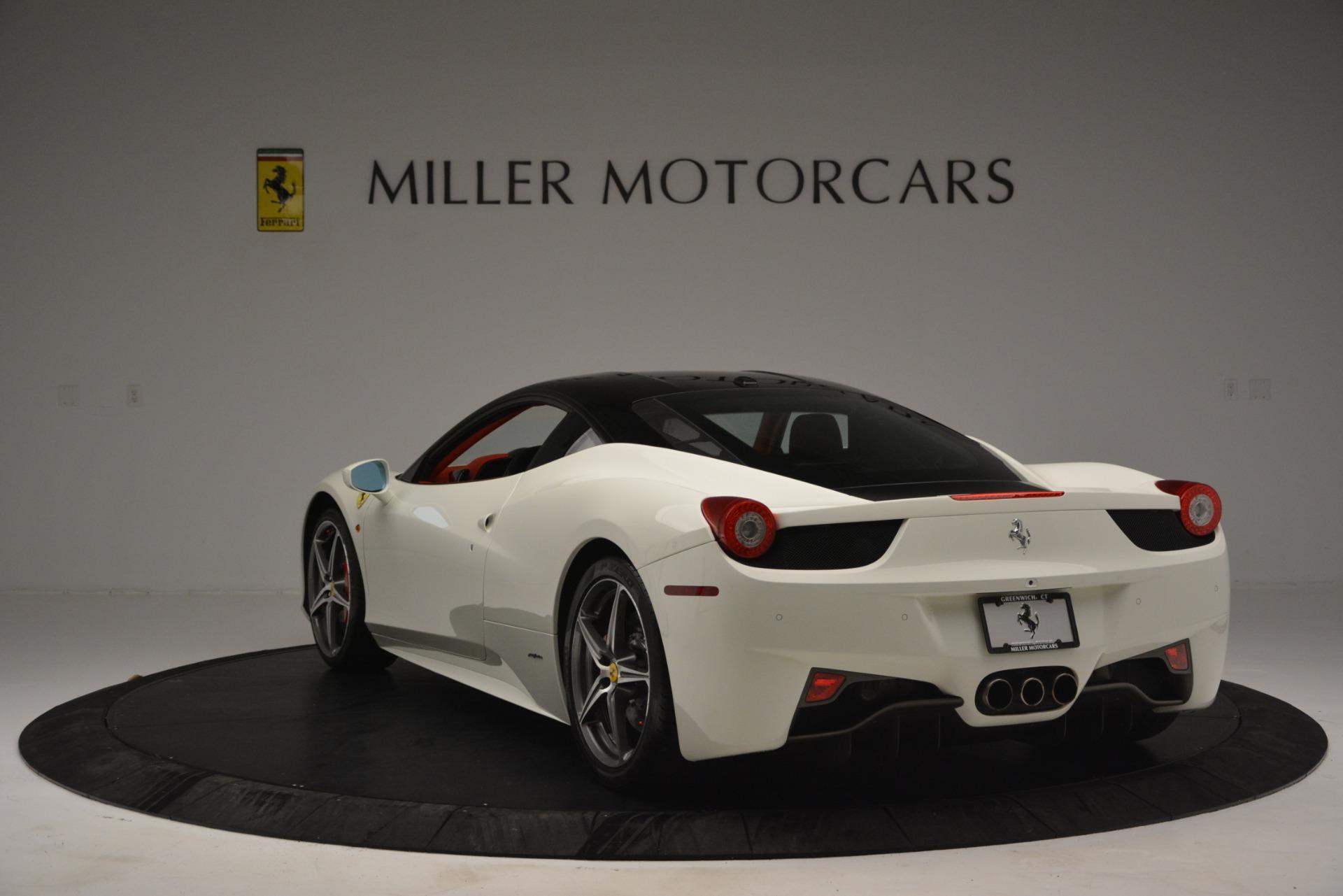 Used 2012 Ferrari 458 Italia  For Sale In Greenwich, CT. Alfa Romeo of Greenwich, 4525 2781_p5