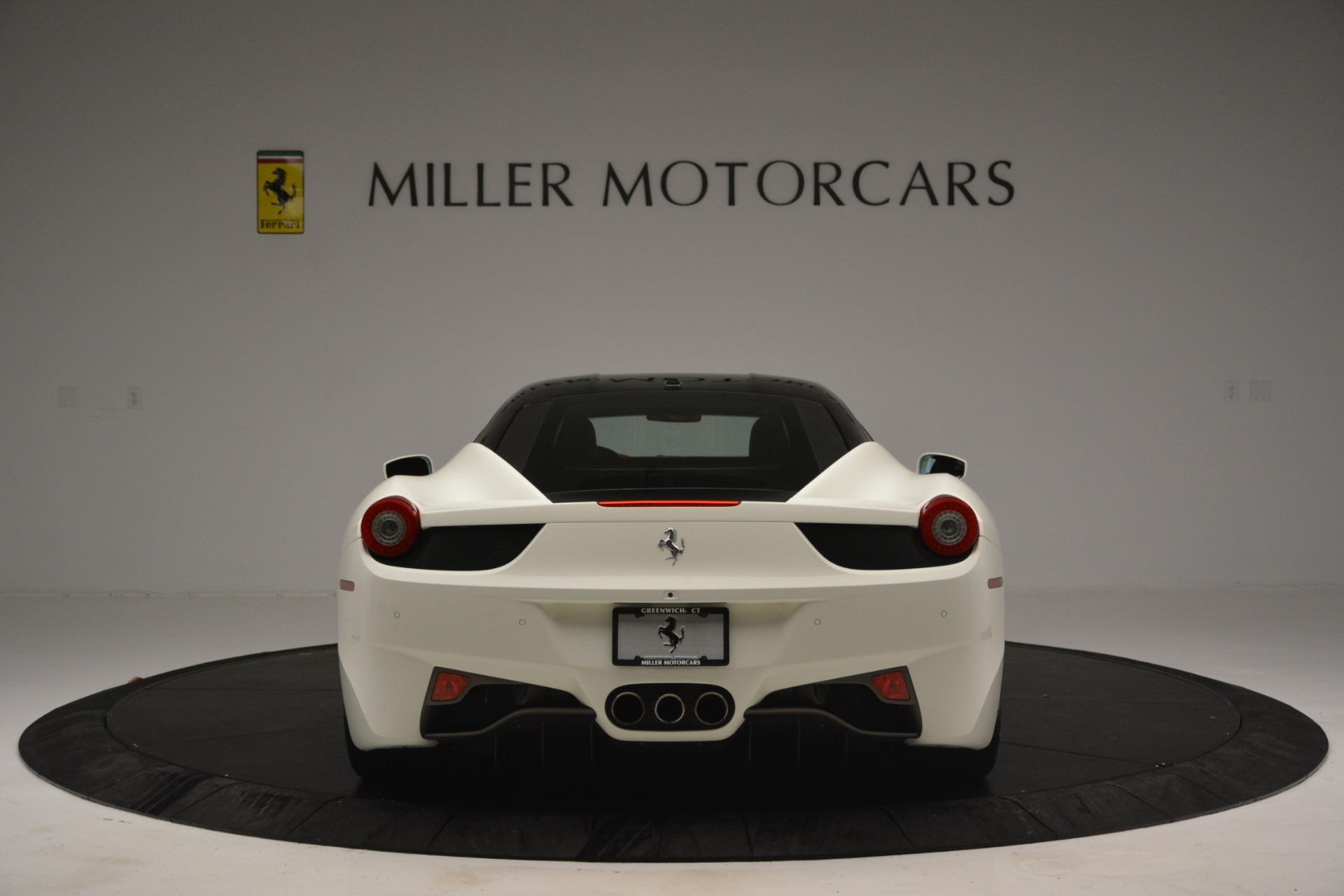Used 2012 Ferrari 458 Italia  For Sale In Greenwich, CT. Alfa Romeo of Greenwich, 4525 2781_p6