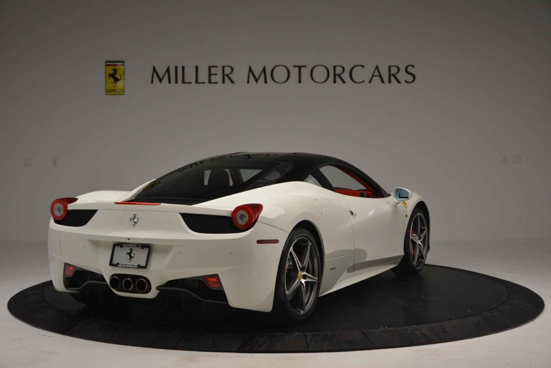 Used 2012 Ferrari 458 Italia  For Sale In Greenwich, CT. Alfa Romeo of Greenwich, 4525 2781_p7