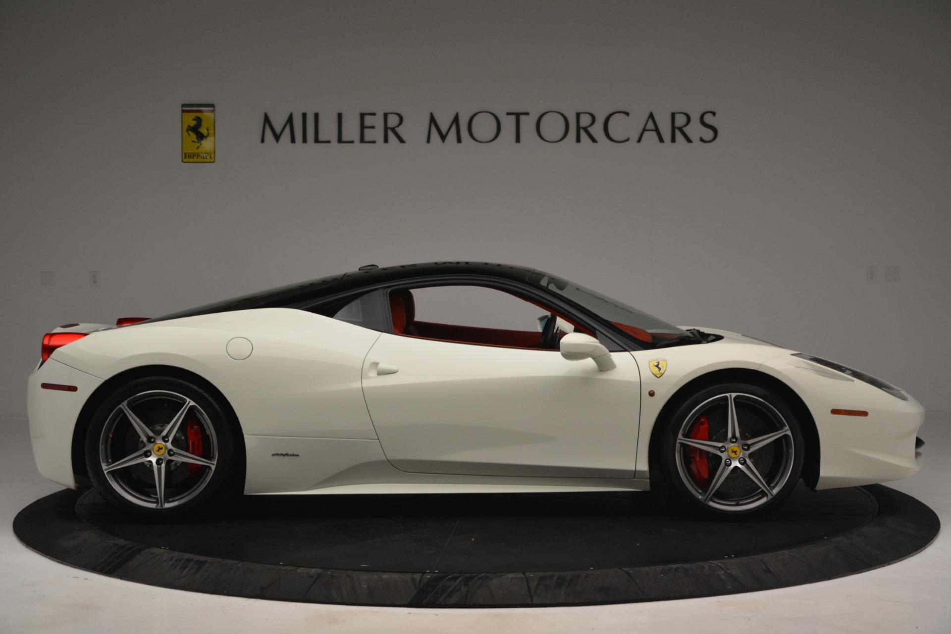Used 2012 Ferrari 458 Italia  For Sale In Greenwich, CT. Alfa Romeo of Greenwich, 4525 2781_p9