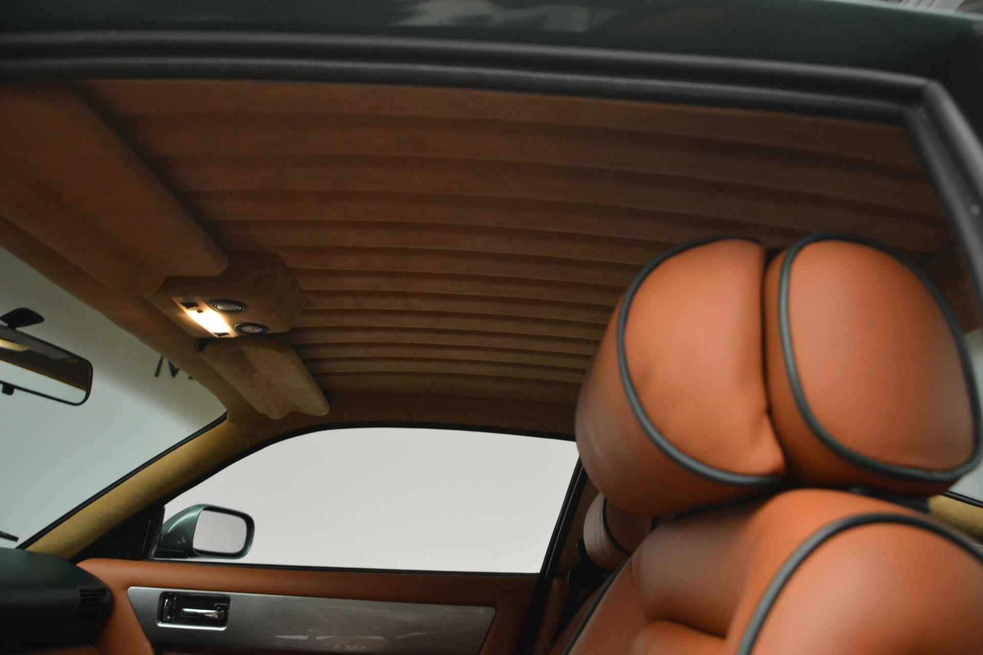 Used 1999 Aston Martin V8 Vantage Le Mans V600 Coupe For Sale In Greenwich, CT. Alfa Romeo of Greenwich, 7449C 2789_p22